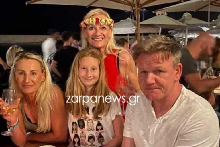 Γκόρντον Ράμσεϊ: Με υπερπολυτελές σκάφος, καταδύσεις και συμβόλαια εχεμύθειας η επίσκεψη του σεφ στα Χανιά (pics)