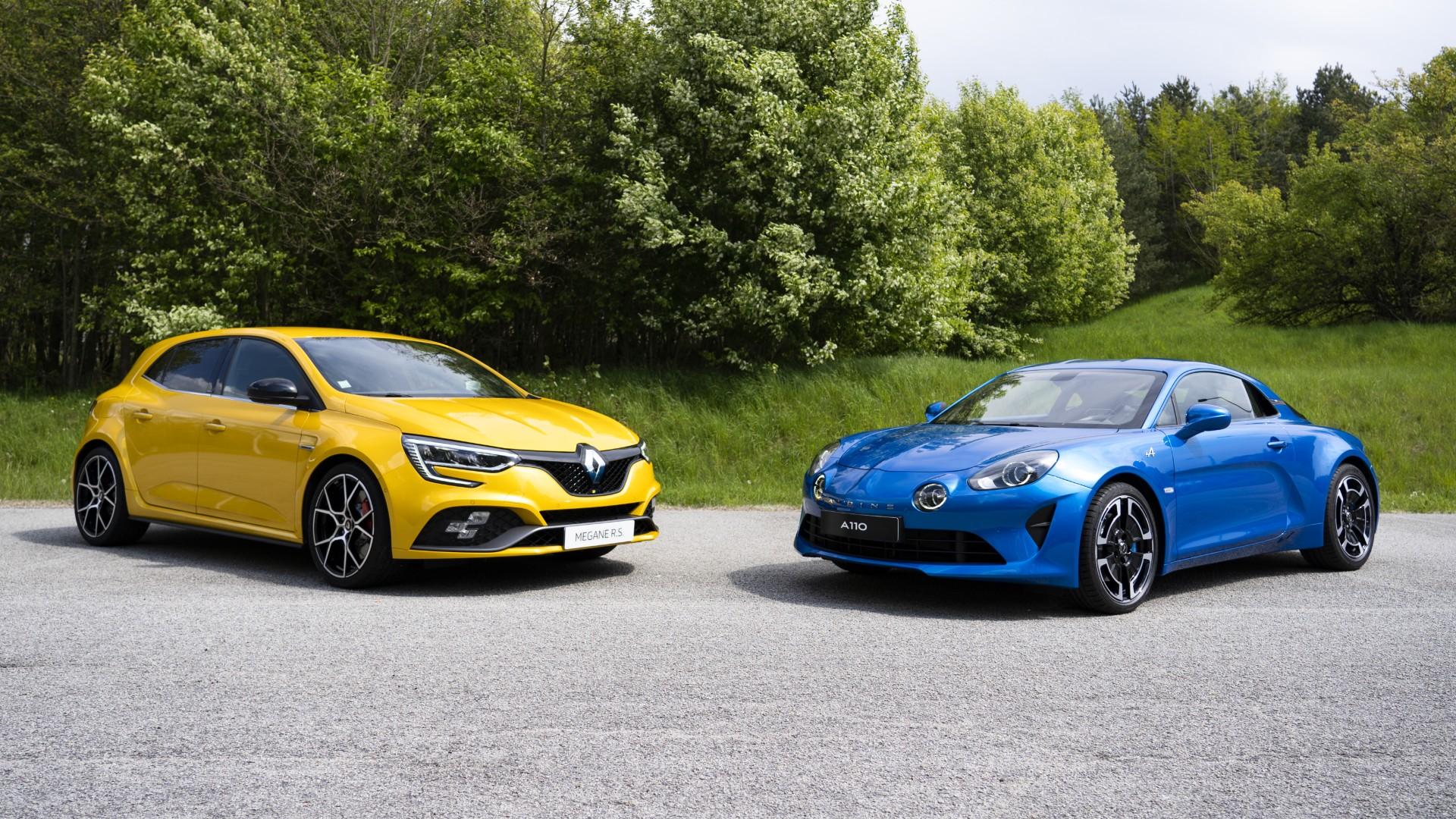 Με τα σήματα της Alpine όλα τα σπορ μοντέλα της Renault