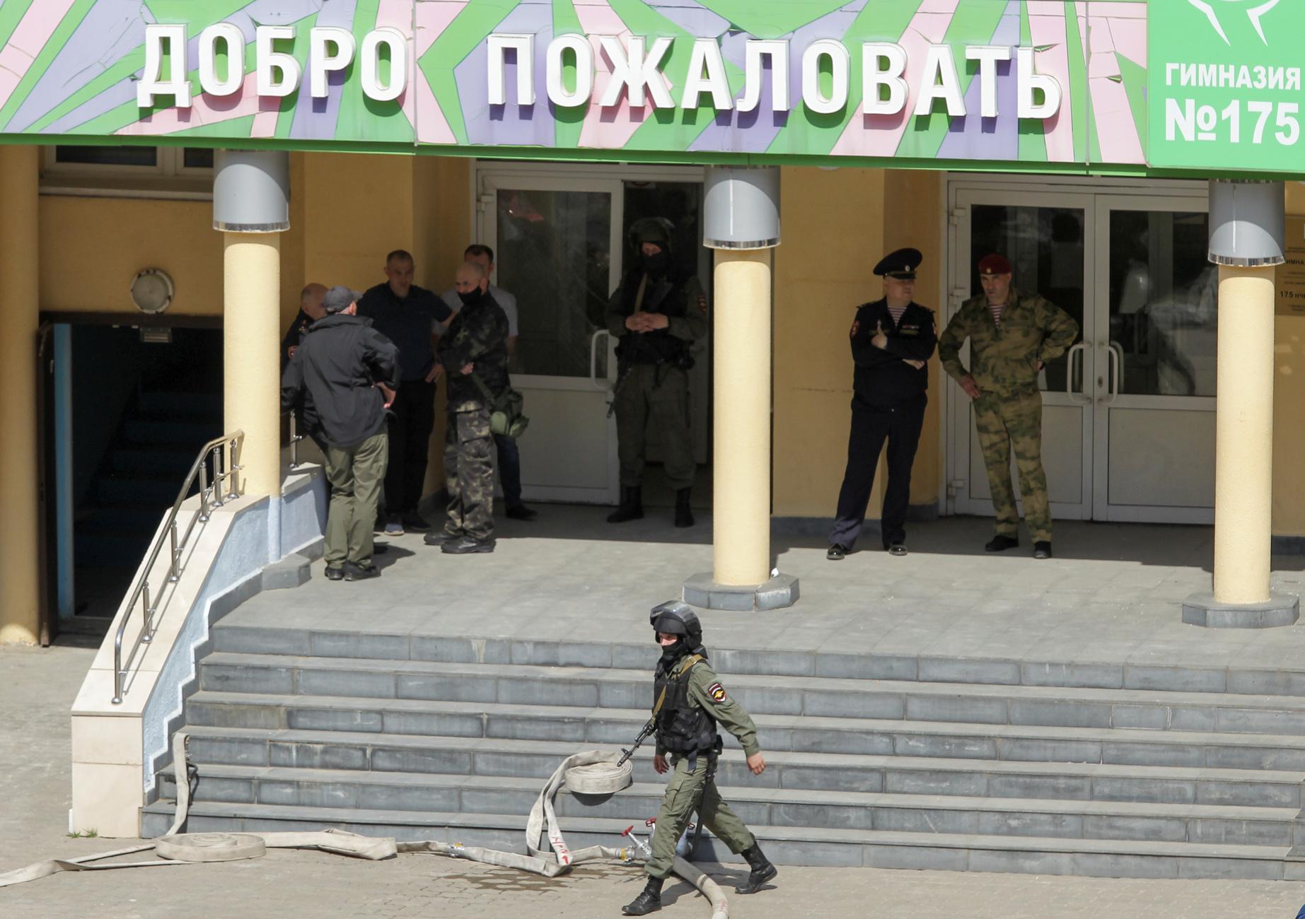 Μακελειό σε σχολείο στη Ρωσία: Ο 19χρονος δράστης πήγε να αυτοκτονήσει μετά τις δολοφονίες