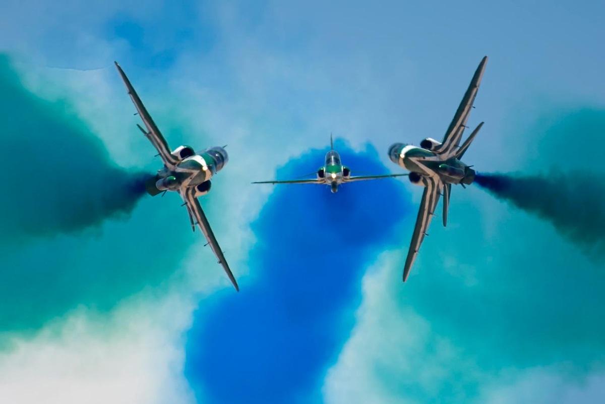 Falcon Eye – 2: Εντυπωσιακή επίδειξη – Στα «γαλανόλευκα» τα Σαουδαραβικά F-15 [pics, vid]