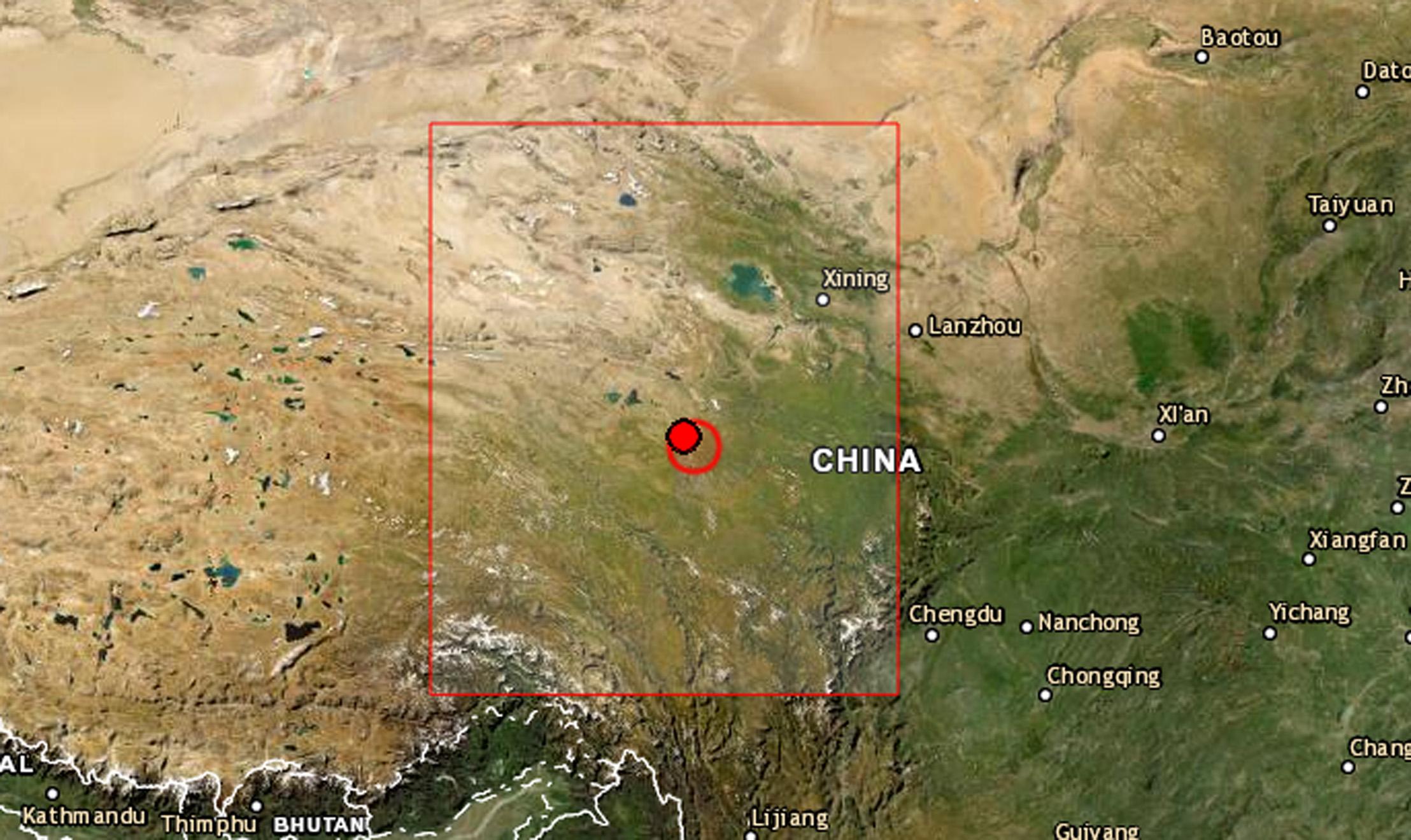 Σεισμός μαμούθ 7,4 Ρίχτερ στην Κίνα