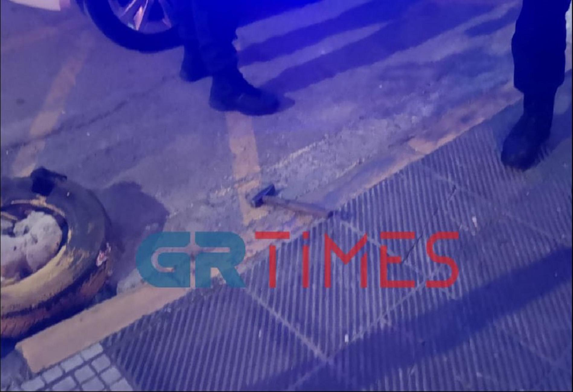 Θεσσαλονίκη: Επίθεση σε οδηγό με σφυρί (pics, video)
