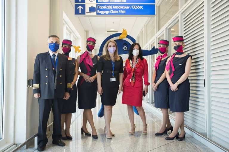 Η SKY express πετάει ψηλότερα και συμβάλλει στην τουριστική ανάπτυξη της χώρας