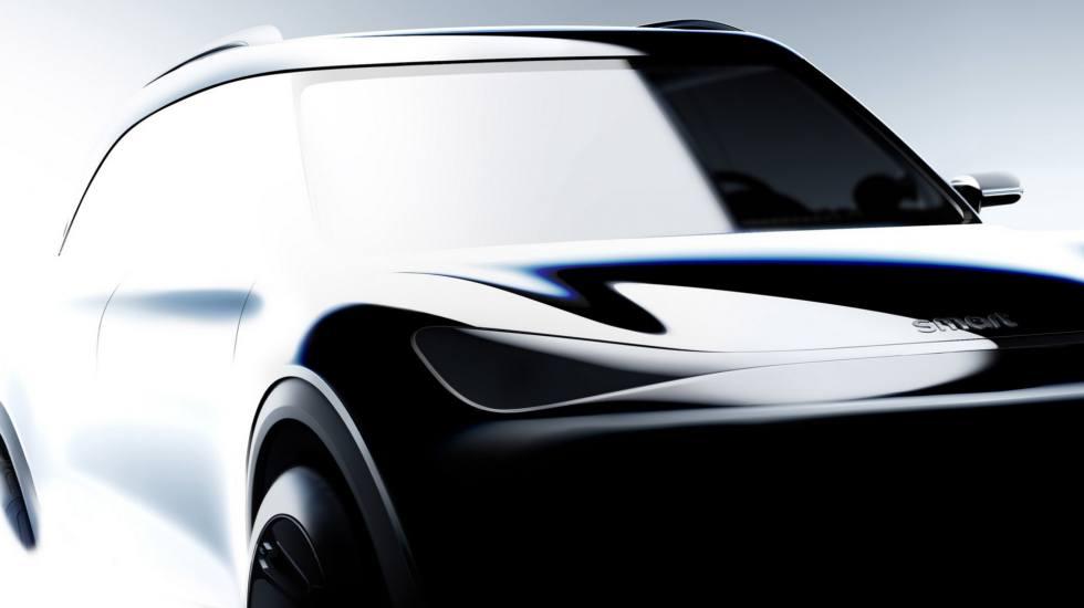 Πρώτο δείγμα από το ηλεκτρικό SUV της smart