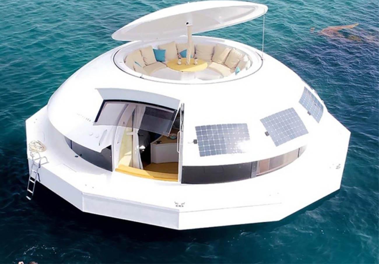 Η πρώτη πλωτή πολυτελής σουίτα ξενοδοχείου στον κόσμο