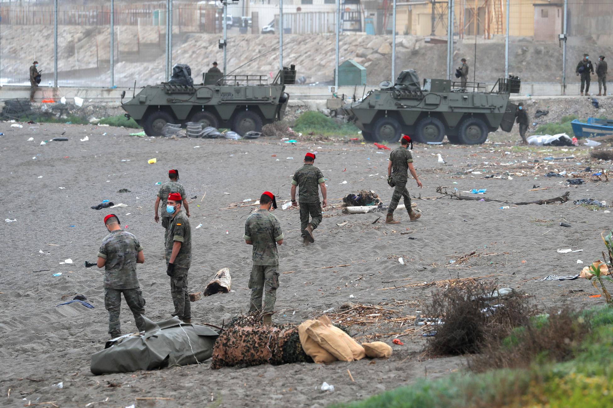 Ισπανία κατά Μαρόκο: Απέτυχε να ελέγξει τα σύνορά του