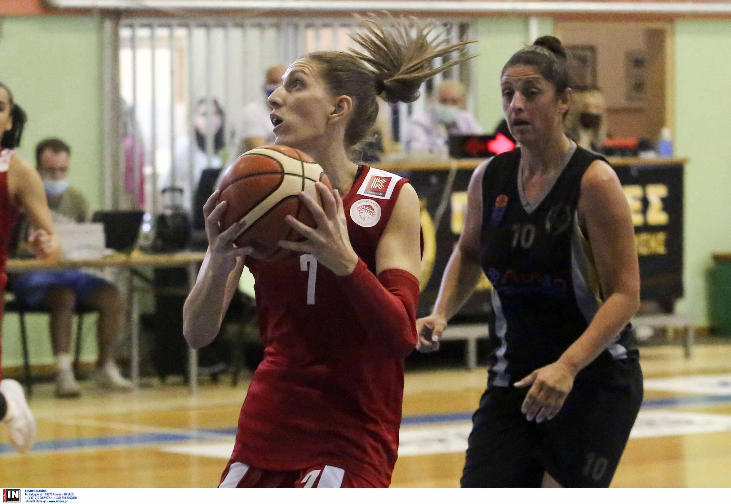 Ολυμπιακός: Ρήξη χιαστού η Σπυριδοπούλου