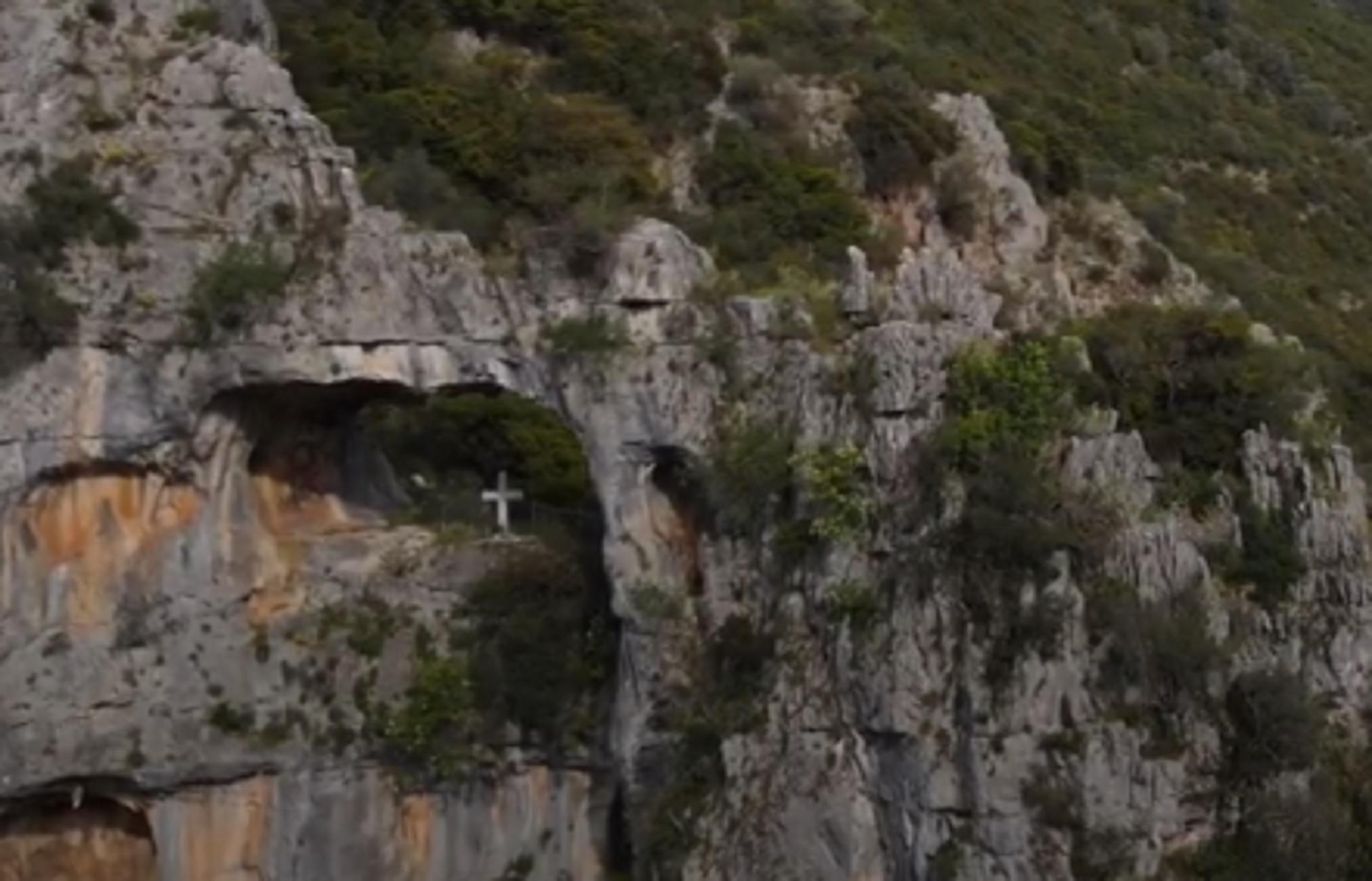 Άγιος Γεώργιος: Ο θρύλος πίσω από αυτές τις εκπληκτικές εικόνες στην παλιά εθνική οδό (video)