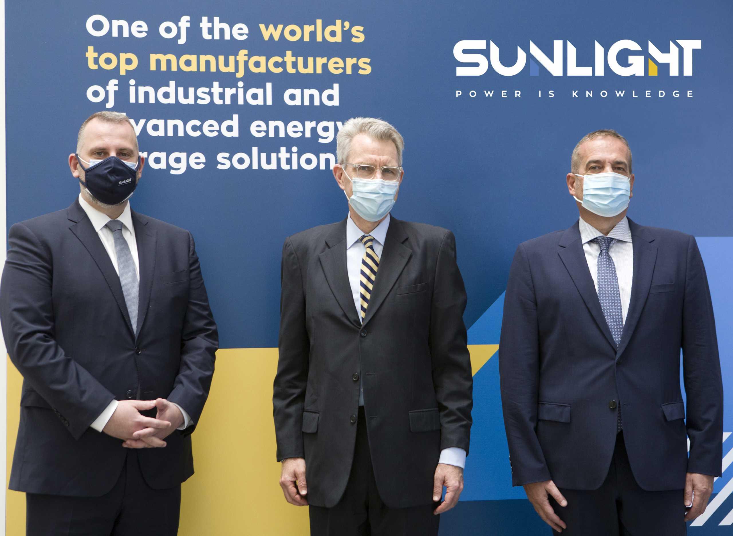 Sunlight: Για τα επενδυτικά σχέδια στην Αμερική συζήτησαν ο Πάιατ και η διοίκηση της εταιρείας