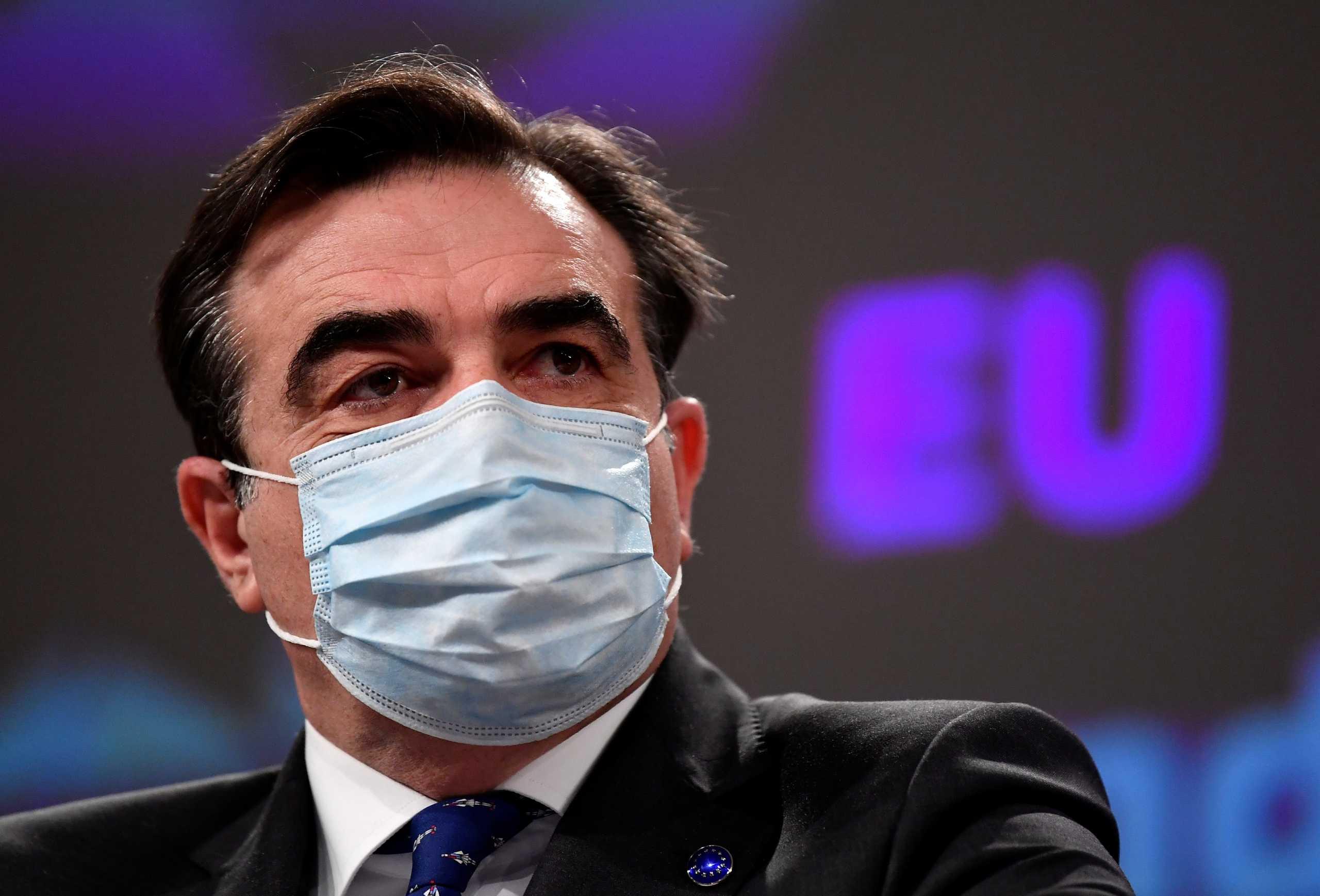 Μαργαρίτης Σχοινάς: Η Ελλάδα θα πάρει τις πρώτες προκαταβολές από το Ταμείο Ανάκαμψης το καλοκαίρι