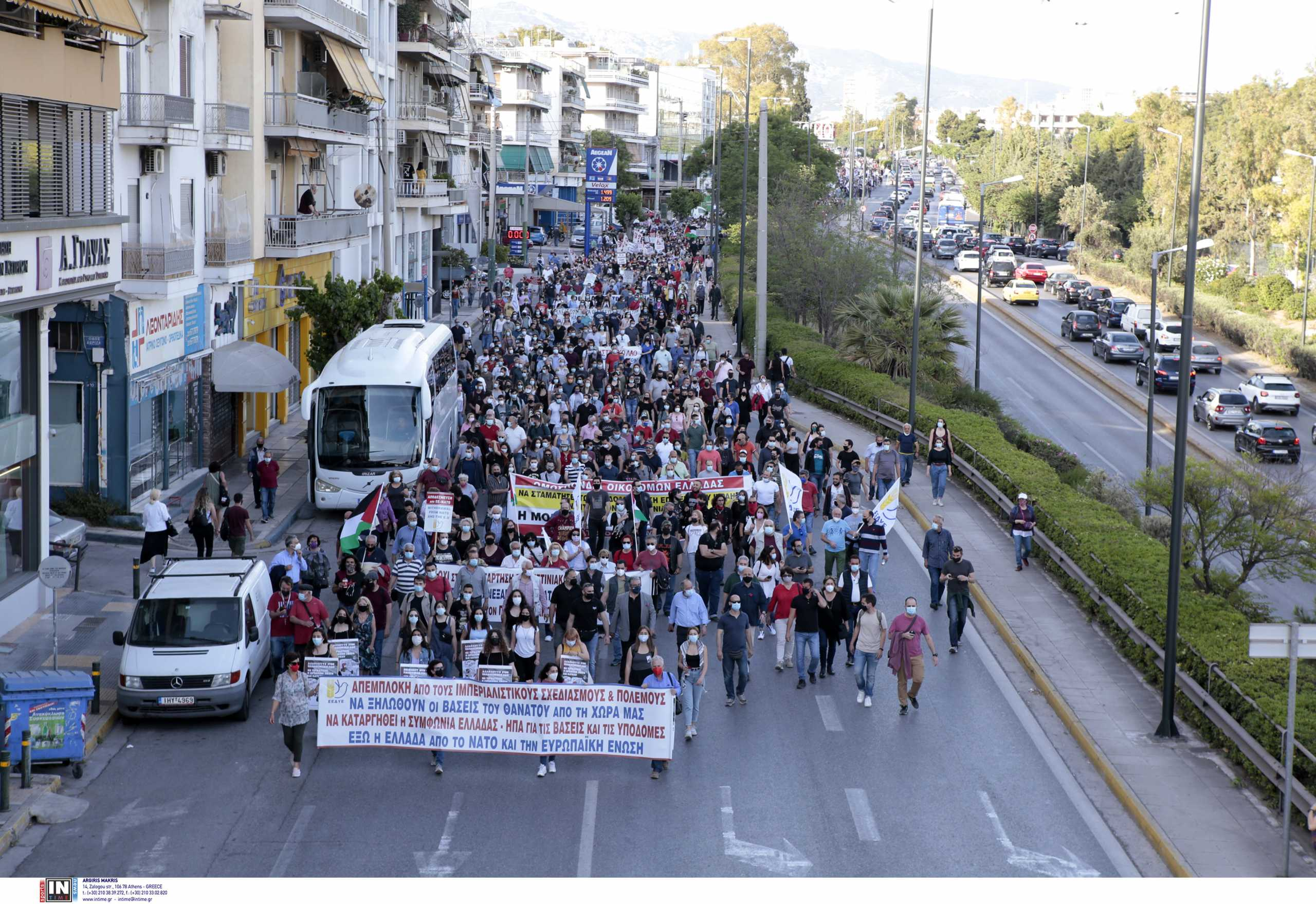 Συγκέντρωση για το Παλαιστινιακό στην Αθήνα