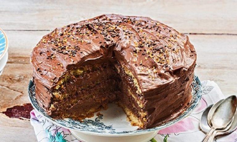 Συνταγή για να φτιάξετε εύκολα την πιο λαχταριστή μαμαδίστικη τούρτα μερέντα
