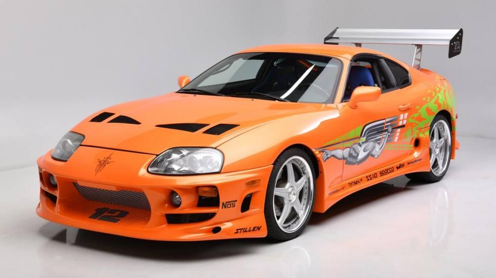 Σε δημοπρασία η Toyota Supra που πρωταγωνίστησε στο πρώτο Fast & Furious (pics)
