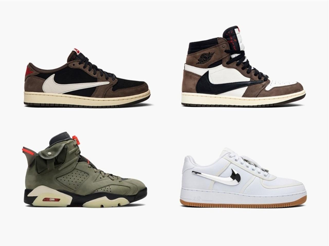 11 sneakers του Τράβις Σκοτ που εξαφανίστηκαν αμέσως από τα ράφια