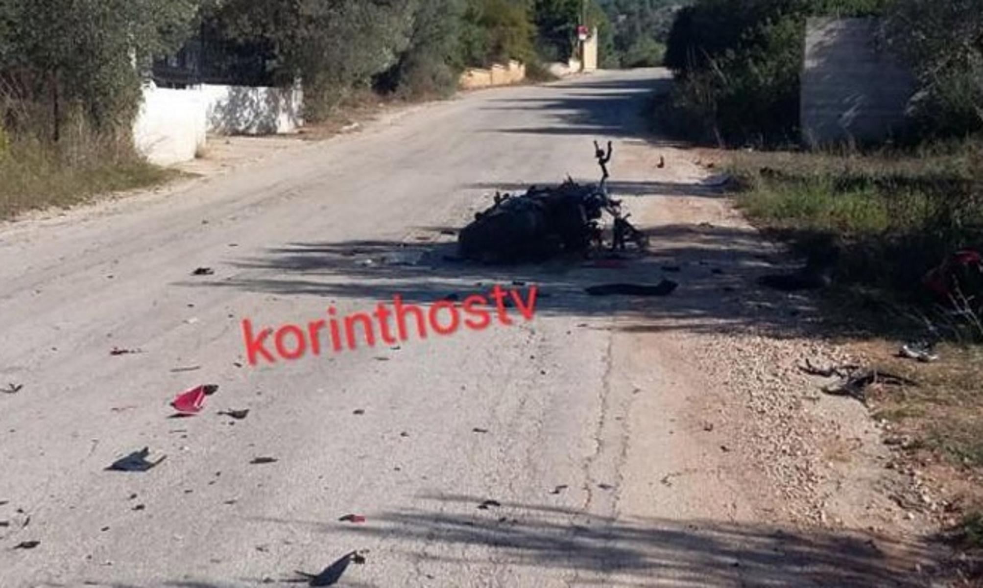 Με αίμα βάφτηκε ο δρόμος Ισθμού – Επιδαύρου: Σκοτώθηκε νεαρός μοτοσικλετιστής