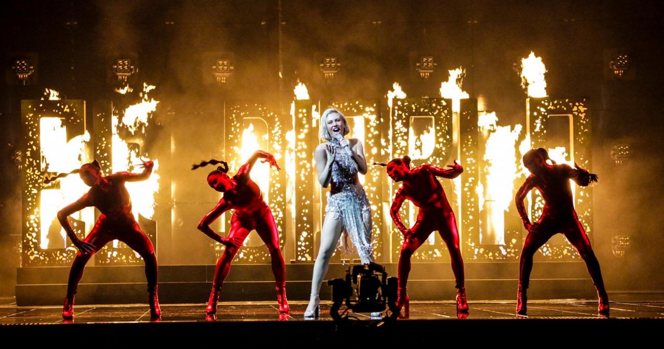 Eurovision 2021: Εκρηκτική η Έλενα Τσαγκρινού στην δεύτερη πρόβα