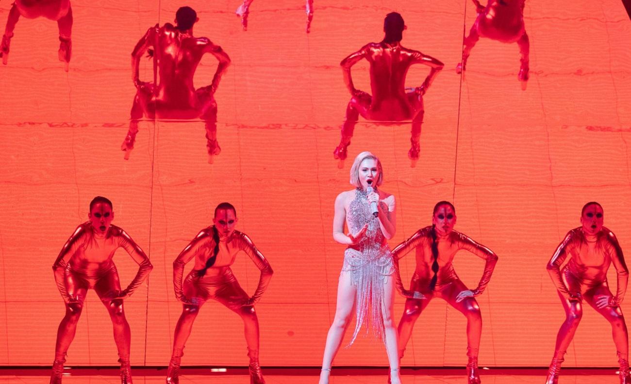 Eurovision 2021: Πυρκαγιά η Έλενα Τσαγκρινού στη σκηνή με το El diablo