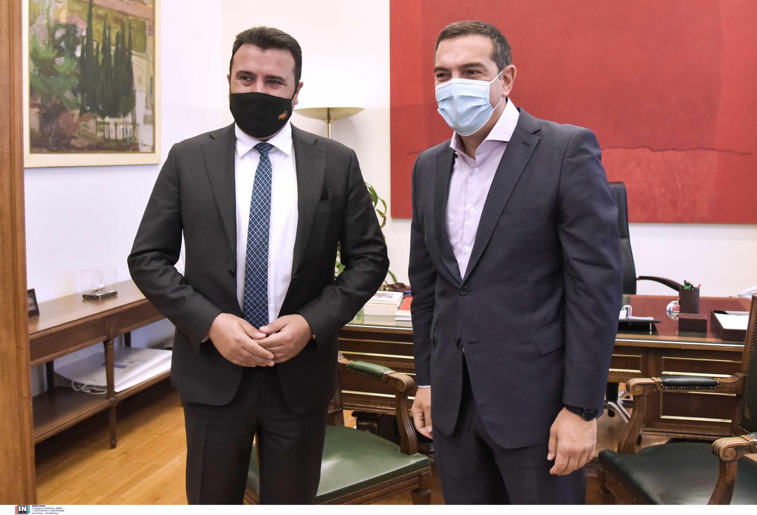 Συνάντηση Τσίπρα με Ζάεφ: «Όσοι μας κατηγορούσαν αντιλαμβάνονται τώρα τη σημασία της Συμφωνίας των Πρεσπών»