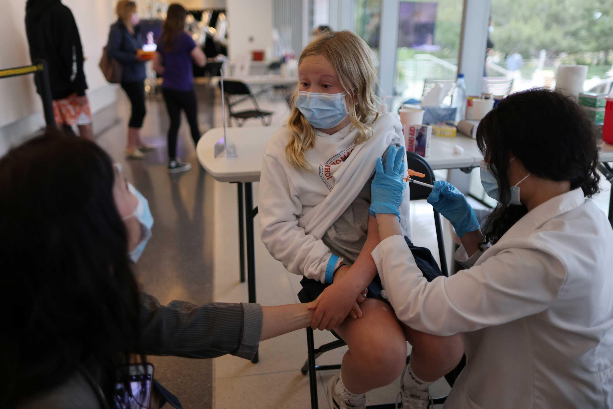 Κορονοϊός: Αρχίζει ο εμβολιασμός παιδιών κάτω των 12 ετών στις ΗΠΑ – 4 εκατ. ανήλικοι μολύνθηκαν