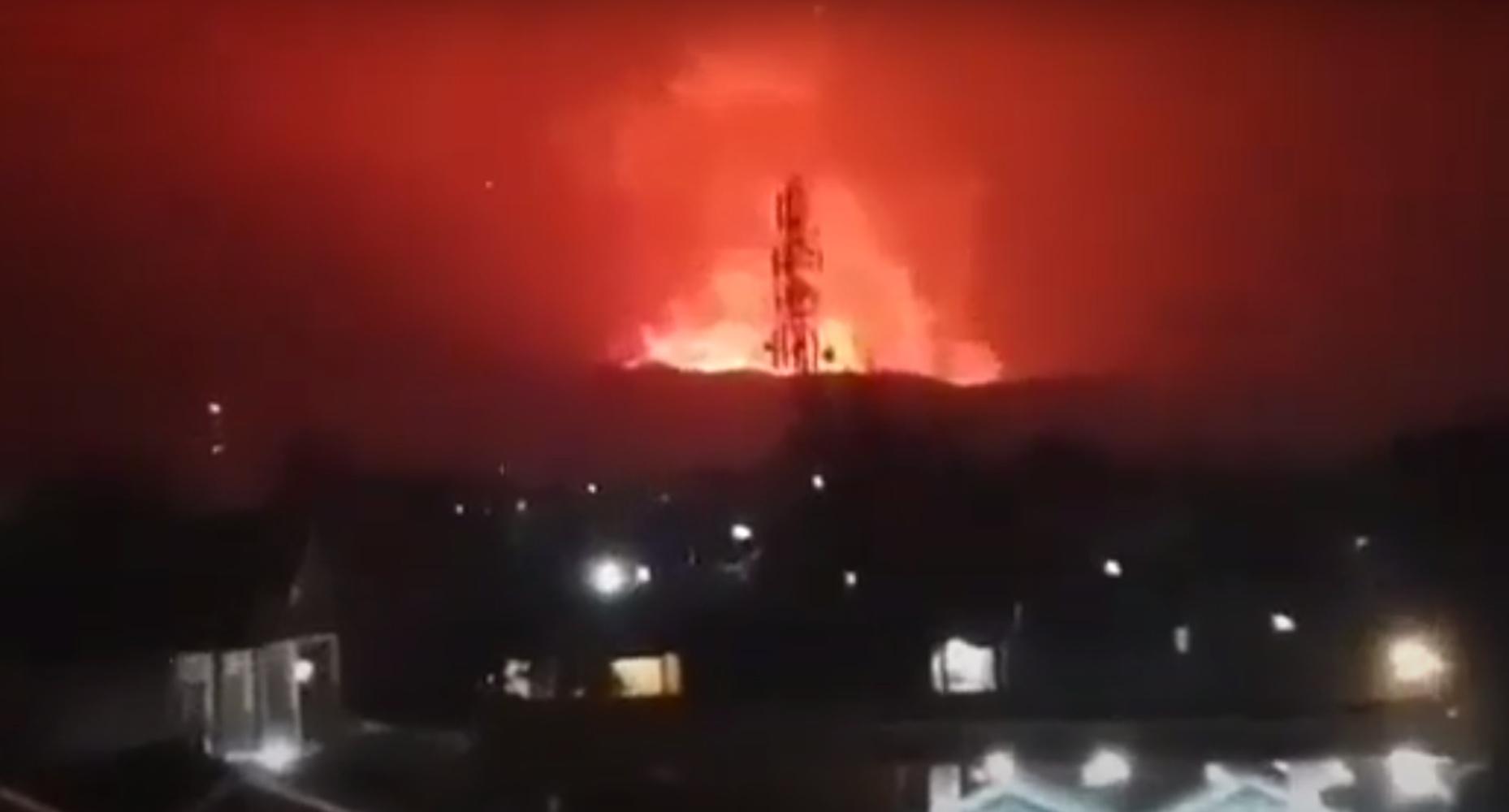 Κονγκό: Εξερράγη ξαφνικά το ηφαίστειο Νιραγκόνγκο
