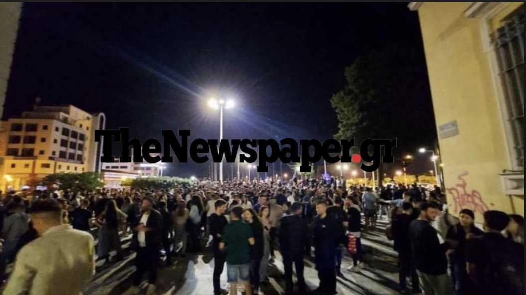 Βόλος: Το κορονοπάρτι που ξεπέρασε κάθε προηγούμενο – «Μετακόμισαν» στην άλλη πλευρά της πόλης (pics)