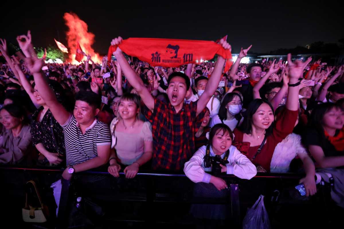Η Γουχάν επιστρέφει στην κανονικότητα; Συναυλία με 11.000 θεατές- Και το «πείραμα» του Λίβερπουλ: Φεστιβάλ χωρίς μάσκες και 5.000 ανθρώπους (photos, BINTEO)