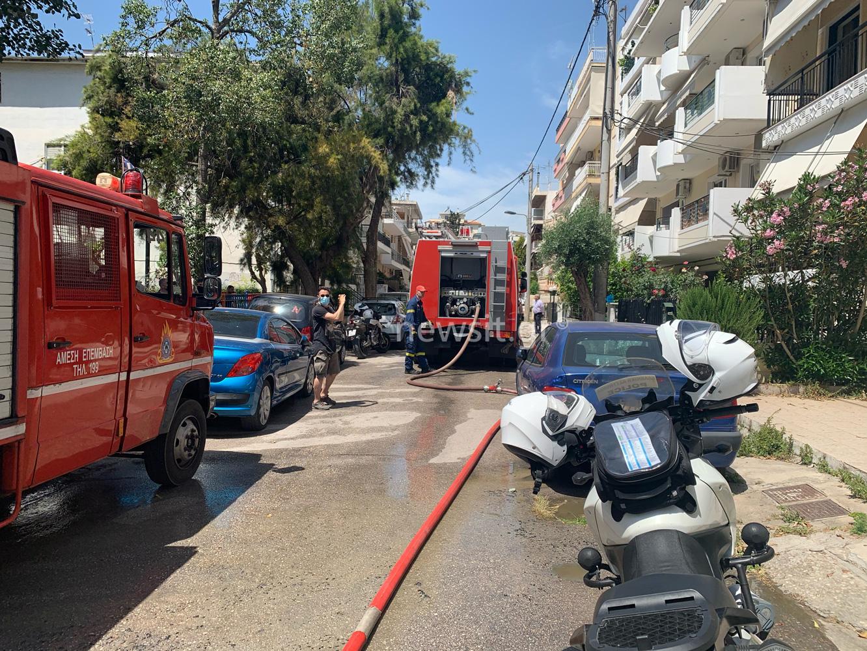 Τραγωδία στο Χαϊδάρι: Φωτιά σε διαμέρισμα, νεκρή ηλικιωμένη