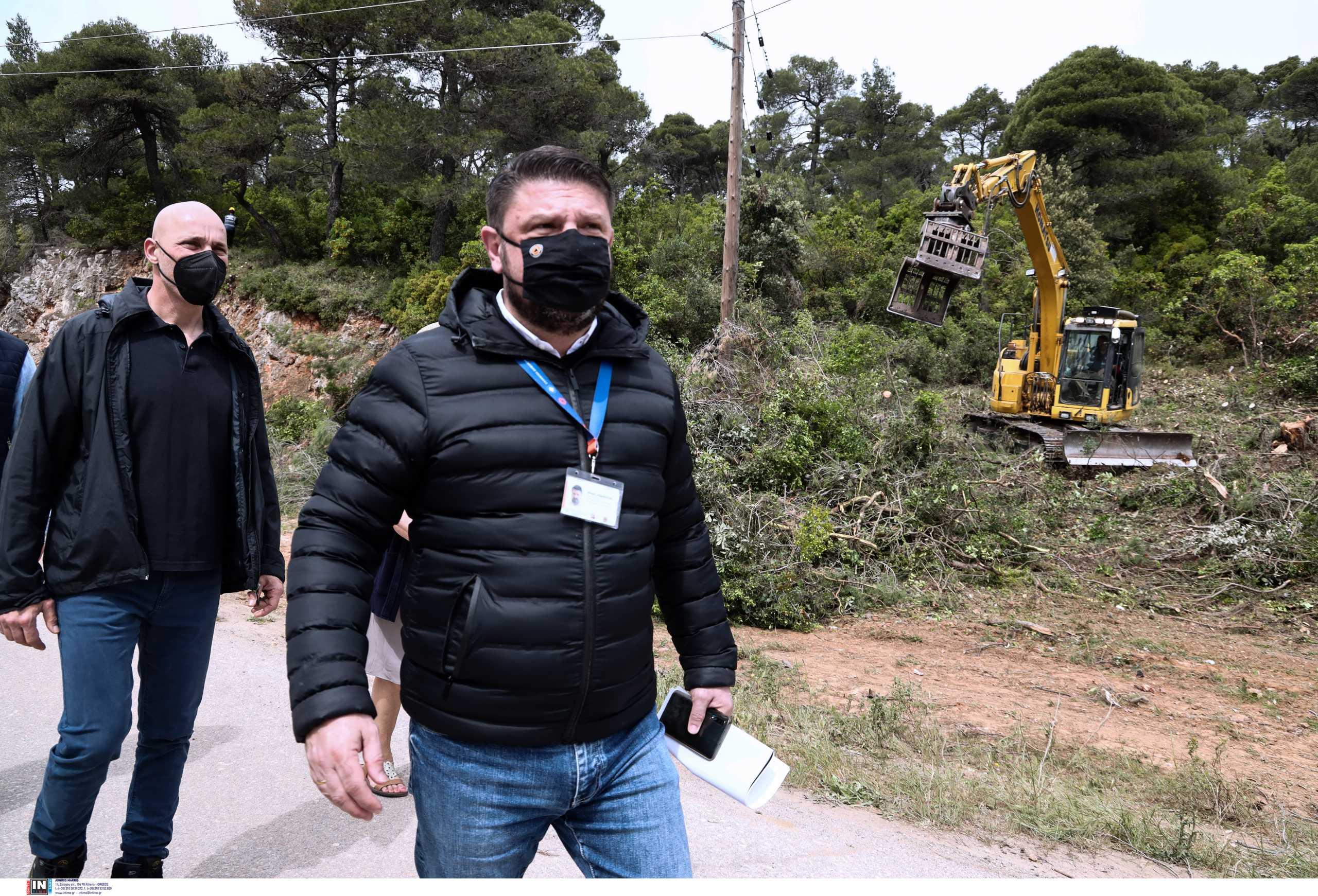 Αυτοψία Χαρδαλιά στην Ιπποκράτειο Πολιτεία για την πρόληψη των πυρκαγιών (pics)