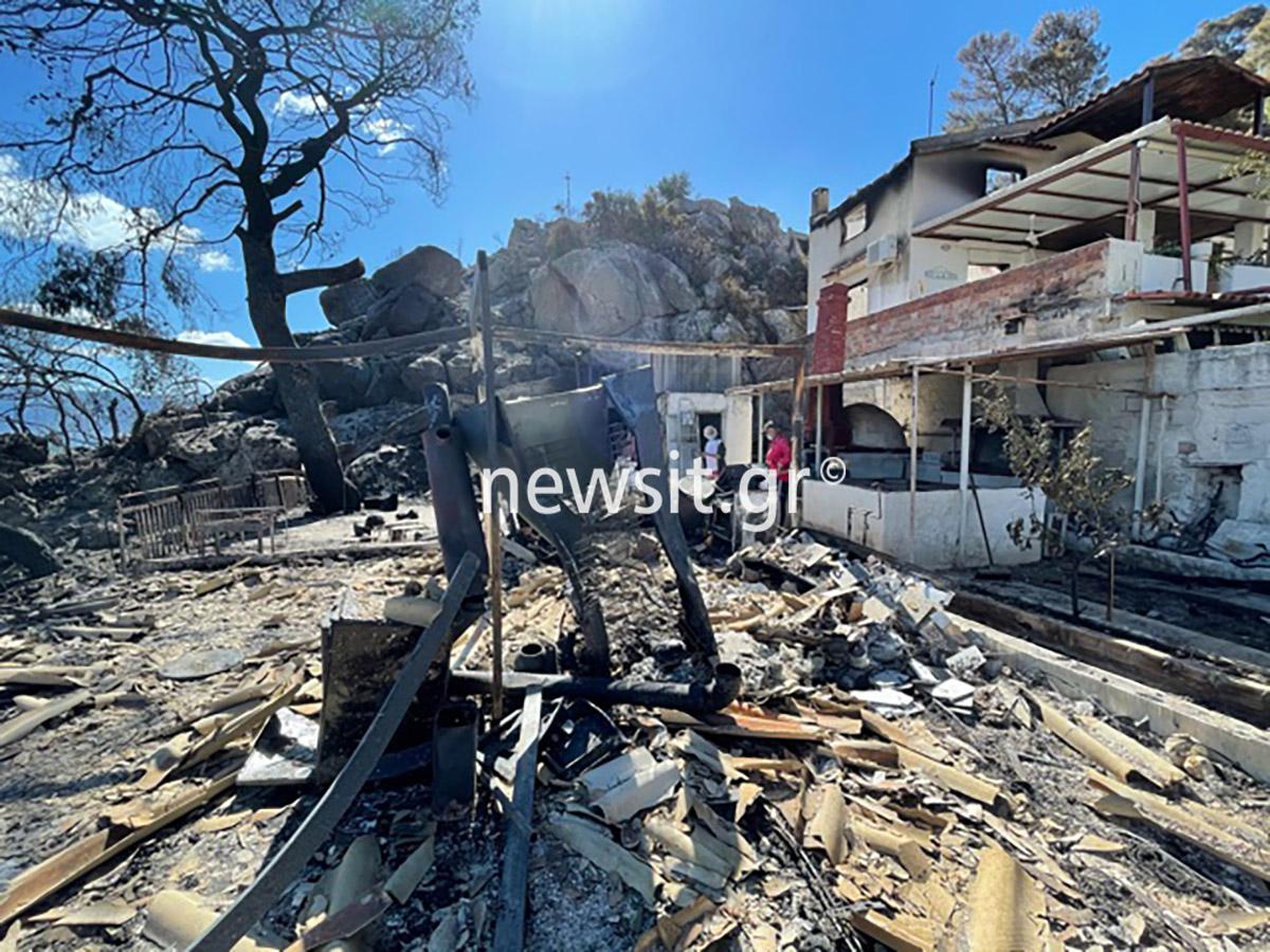 Φωτιά στην Κορινθία: Γύρισαν και βρήκαν το σπίτι που έφτιαξαν πριν από 3 ημέρες στάχτη!