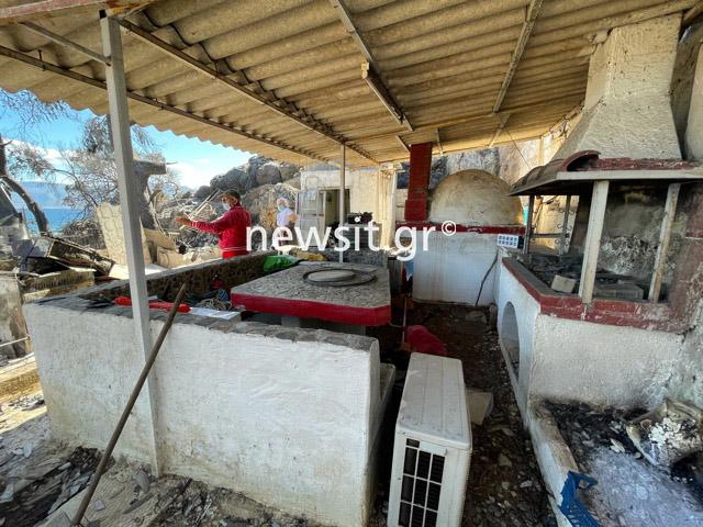 Φωτιά στην Κορινθία: Γύρισαν και βρήκαν το σπίτι που έφτιαξαν πριν από 3 ημέρες στάχτη![photos]