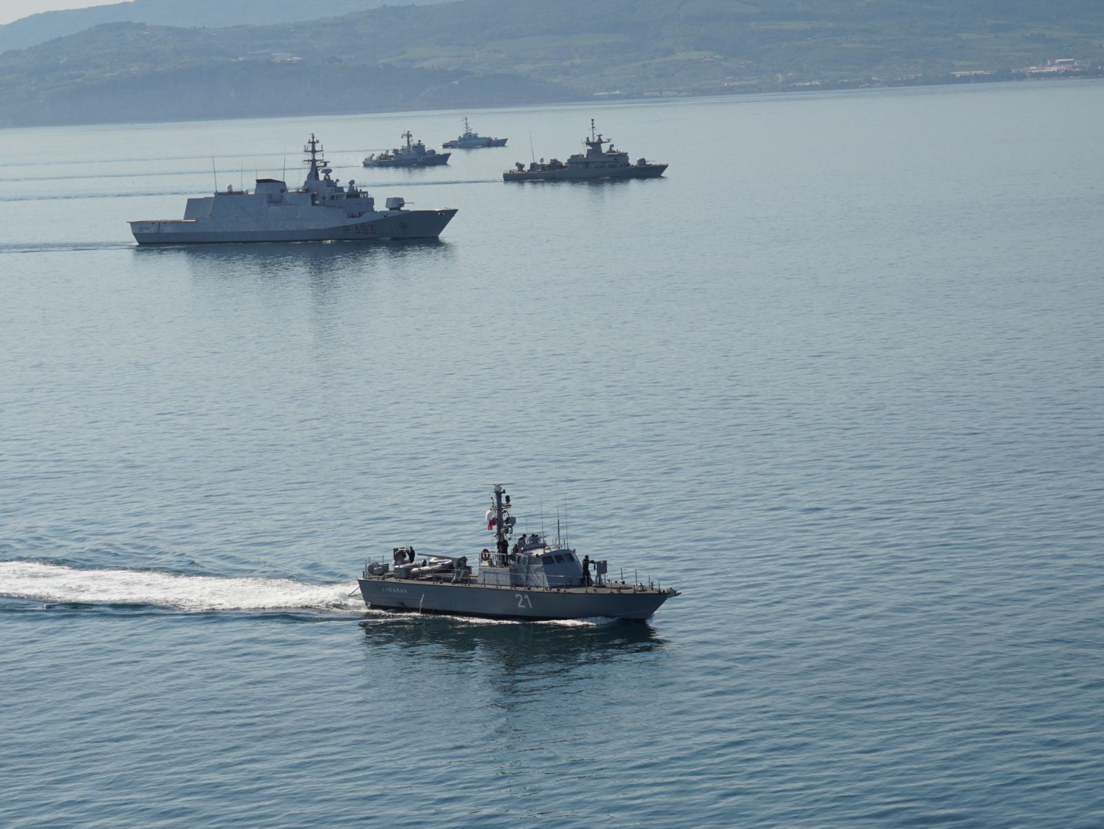 «Adrion Livex 2021»: Έλαμψε η ελληνική πυραυλάκατος «ΡΟΥΣΣΕΝ» στην πολυεθνική άσκηση [pics]