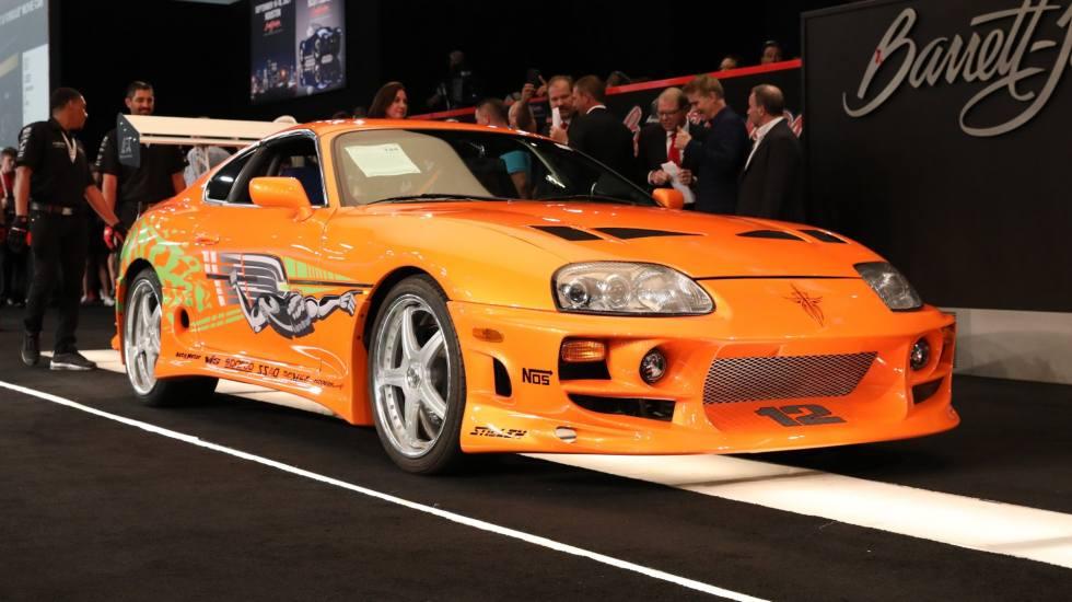 Ποσό ρεκόρ για την Toyota Supra που πρωταγωνιστούσε στο Fast & Furious! (video)