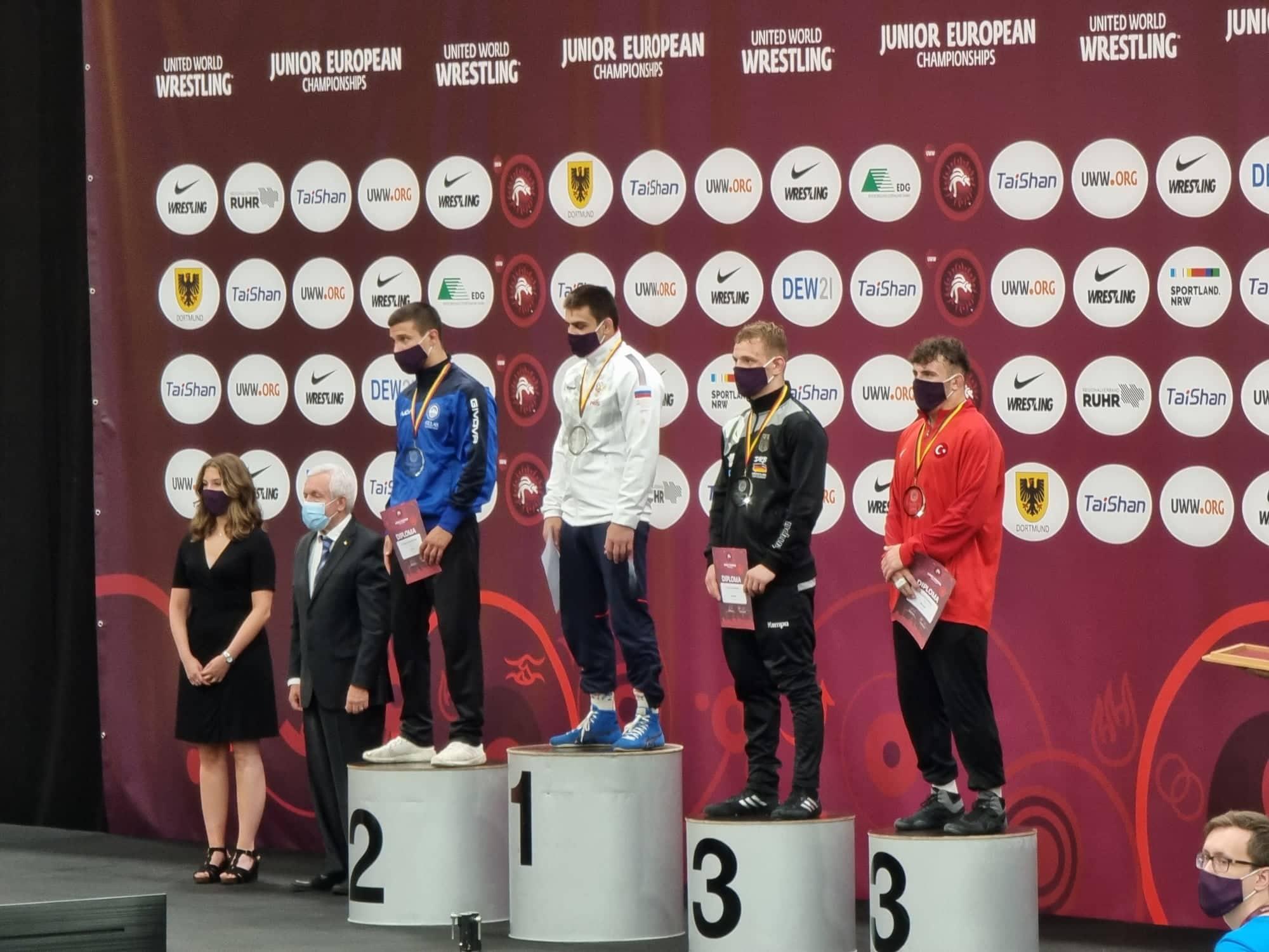 «Ασημένιος» ο Κουγιουμτσίδης στο ευρωπαϊκό πρωτάθλημα