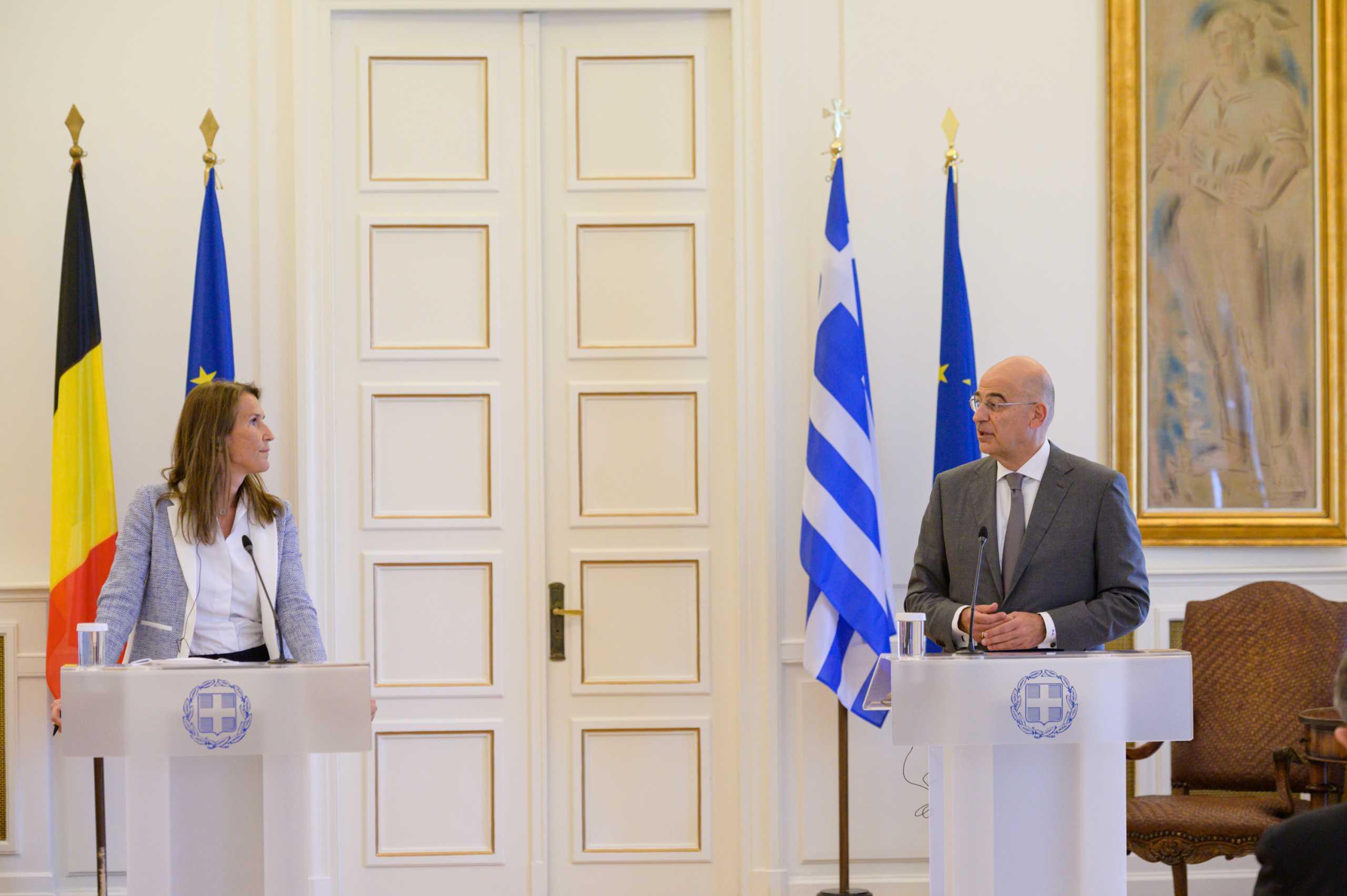Πλήρης στήριξη Βελγίου στην Ελλάδα για τα ζητήματα της ανατολικής Μεσογείου