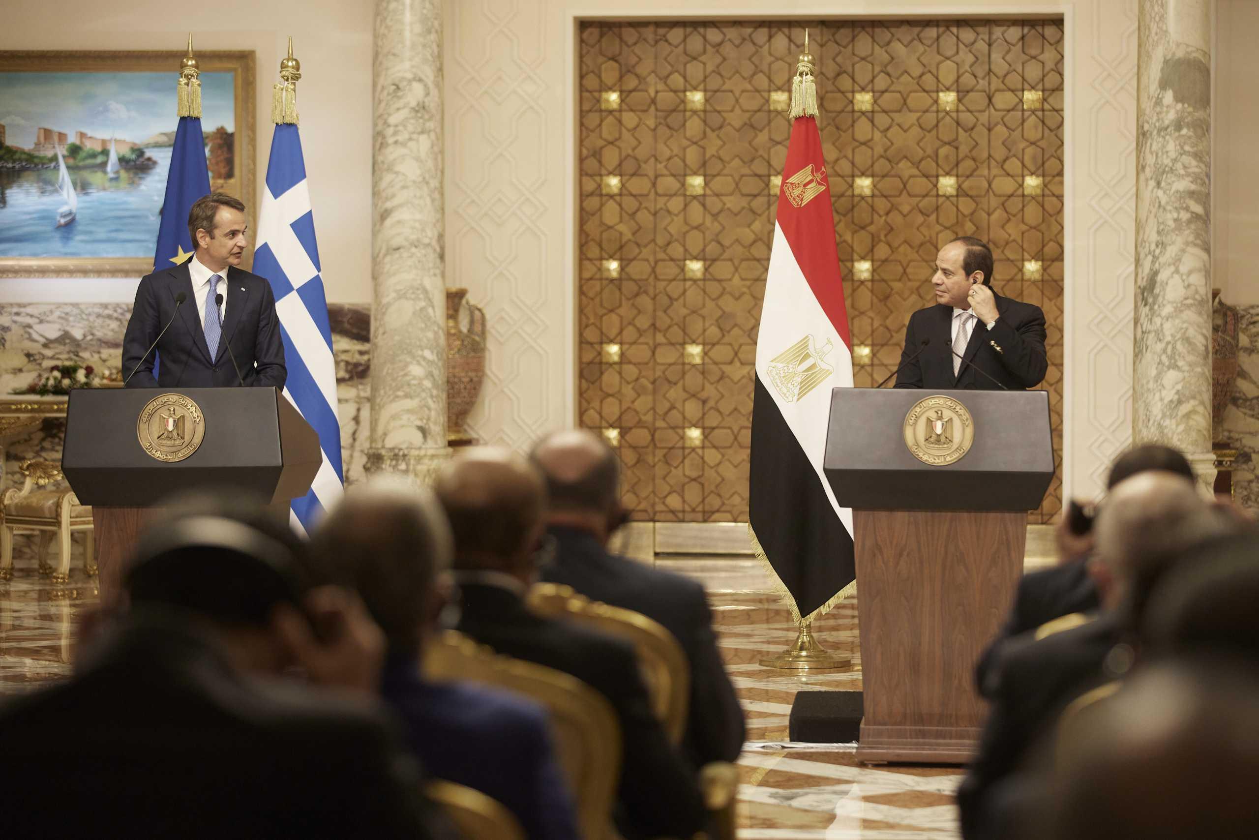 Αλ Σίσι: Υποστηρίζουμε την Ελλάδα σε απόπειρες παραβίασης της κυριαρχίας της