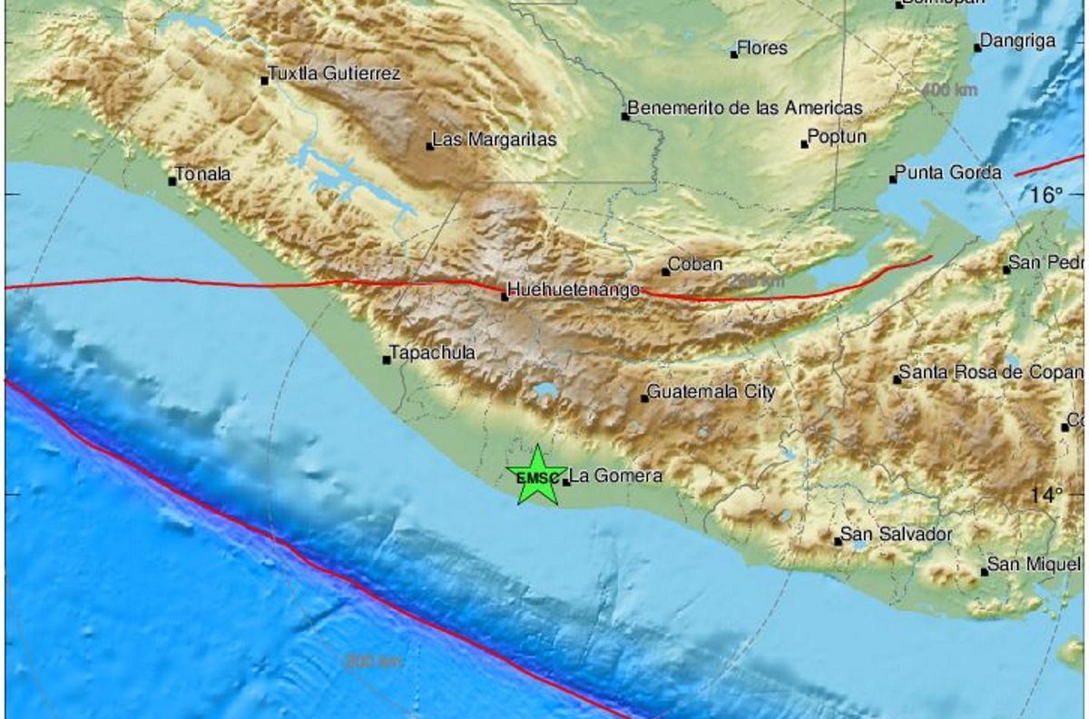 Ισχυρός σεισμός 5,7 ρίχτερ στη Γουατεμάλα