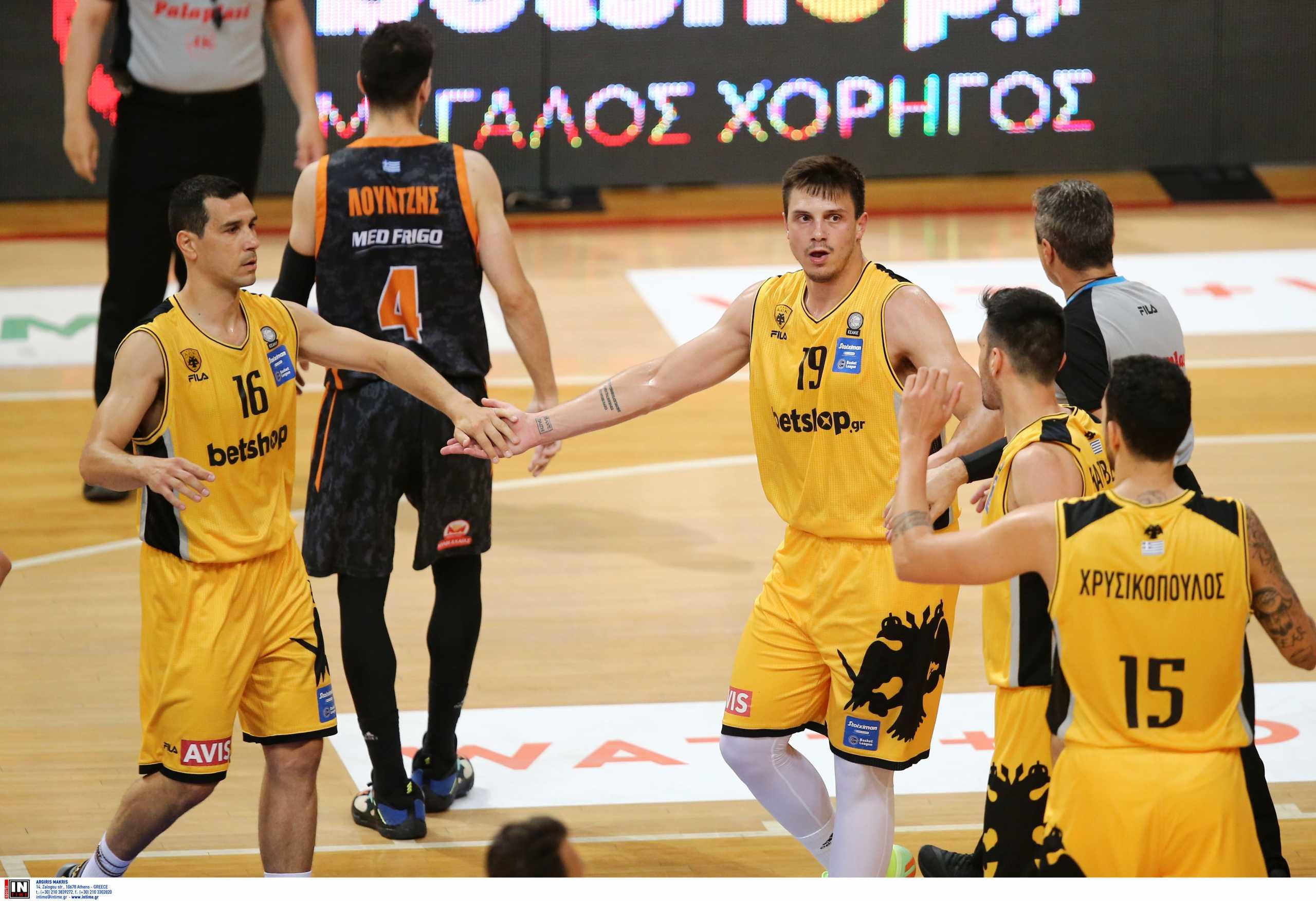 ΑΕΚ – Προμηθέας 95-72: Τρίτη η Ένωση στη Basket League