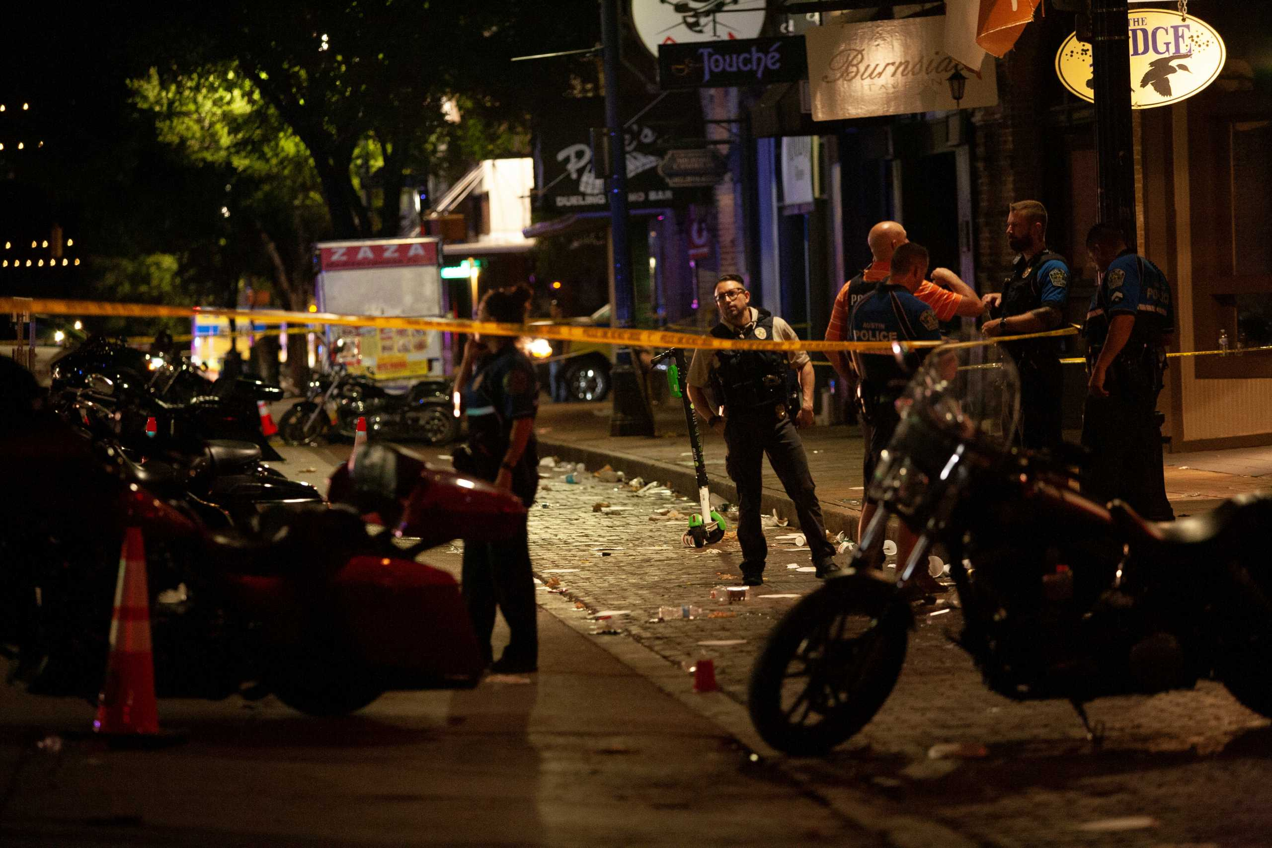 ΗΠΑ: 14 τραυματίες από την ανταλλαγή πυρών στο Όστιν