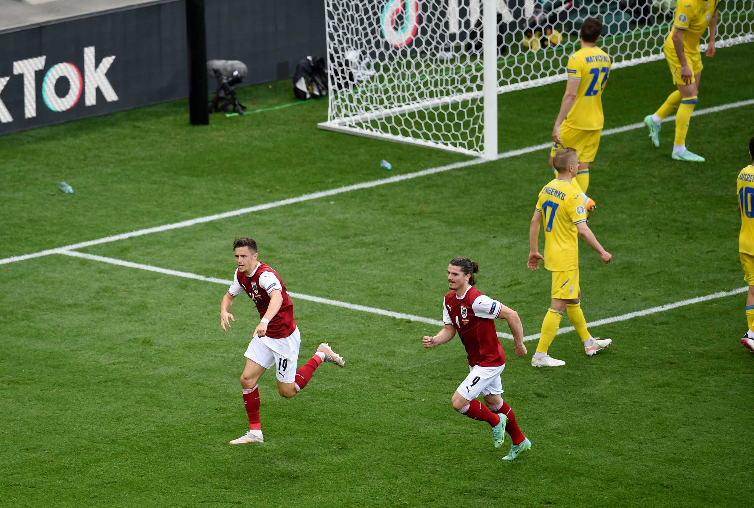 Euro 2020, Ουκρανία – Αυστρία: Προβάδισμα πρόκρισης με Μπάουμγκαρτνερ για τους Αυστριακούς