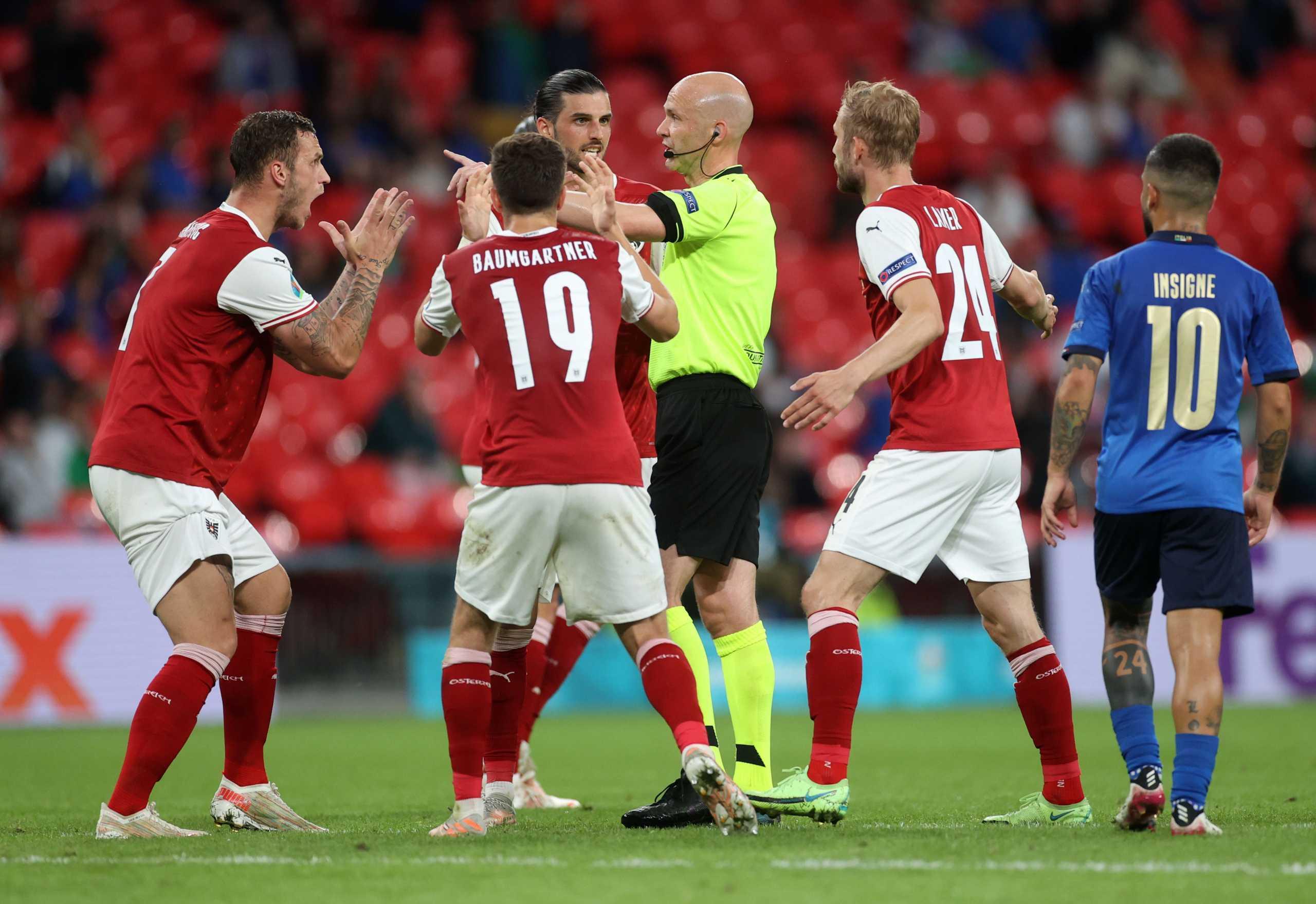 Euro 2020, Ιταλία – Αυστρία: Το ακυρωθέν γκολ του Αρναούτοβιτς από το VAR