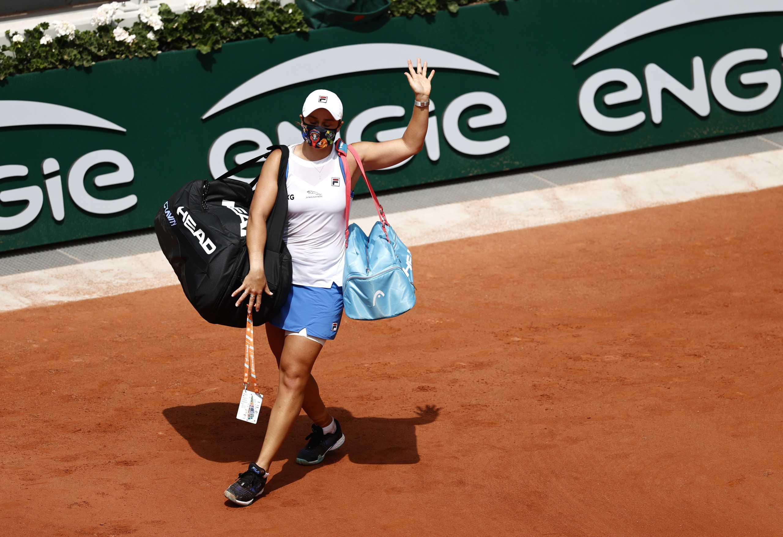 Εγκατέλειψε η Μπάρτι – Εκτός Roland Garros το Νο 1 στον κόσμο