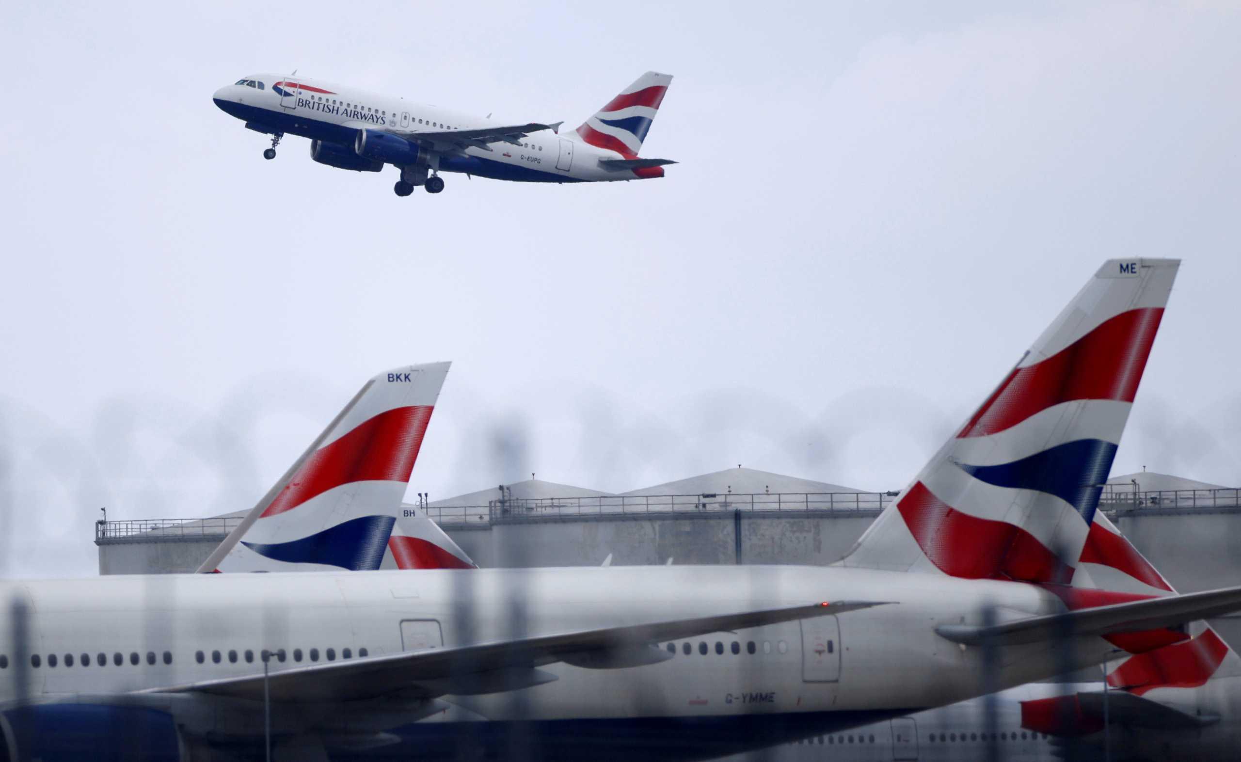 Πανικός στο αεροδρόμιο τουΧίθροου: «Κατέρρευσε» αεροπλάνο της British Airways (pics, vid)