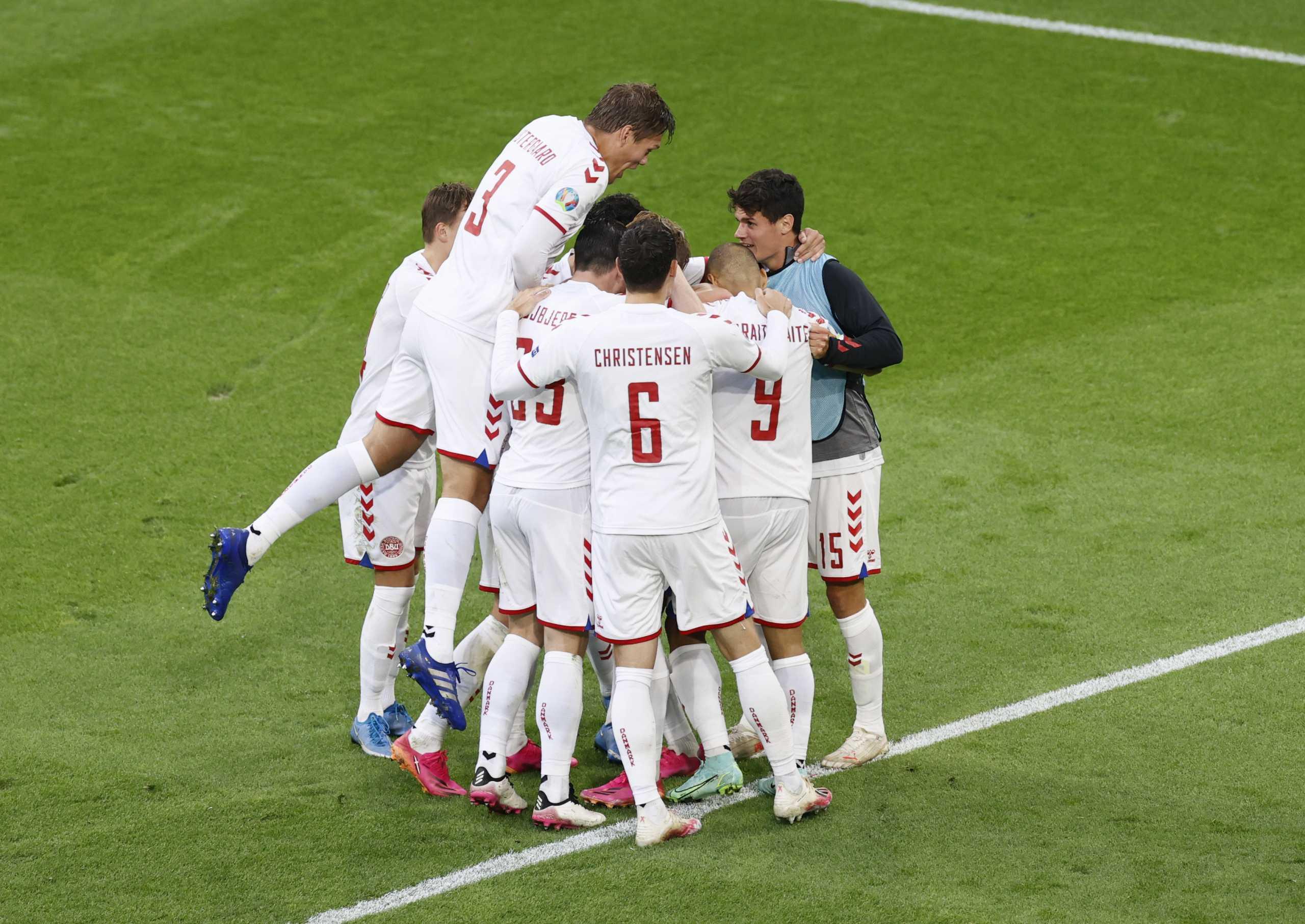 Euro 2020, Ουαλία – Δανία 0-4: «Πάρτι» των «Βίκινγκς» και εμφατική πρόκριση στα προημιτελικά
