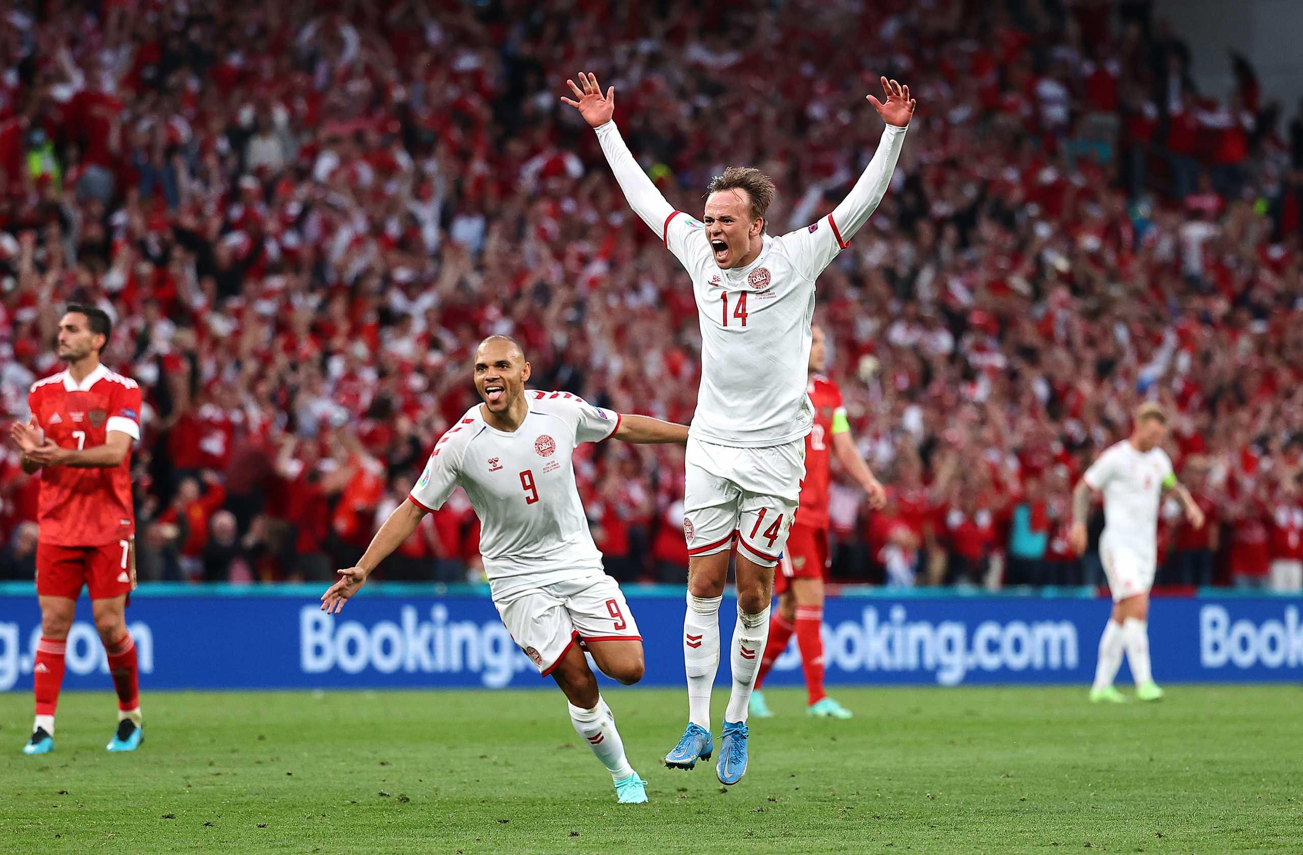 Euro 2020: Αδιανόητη «φωτοβολίδα» του Ντάμσγκααρντ βάζει την Δανία στο «κόλπο» της πρόκρισης
