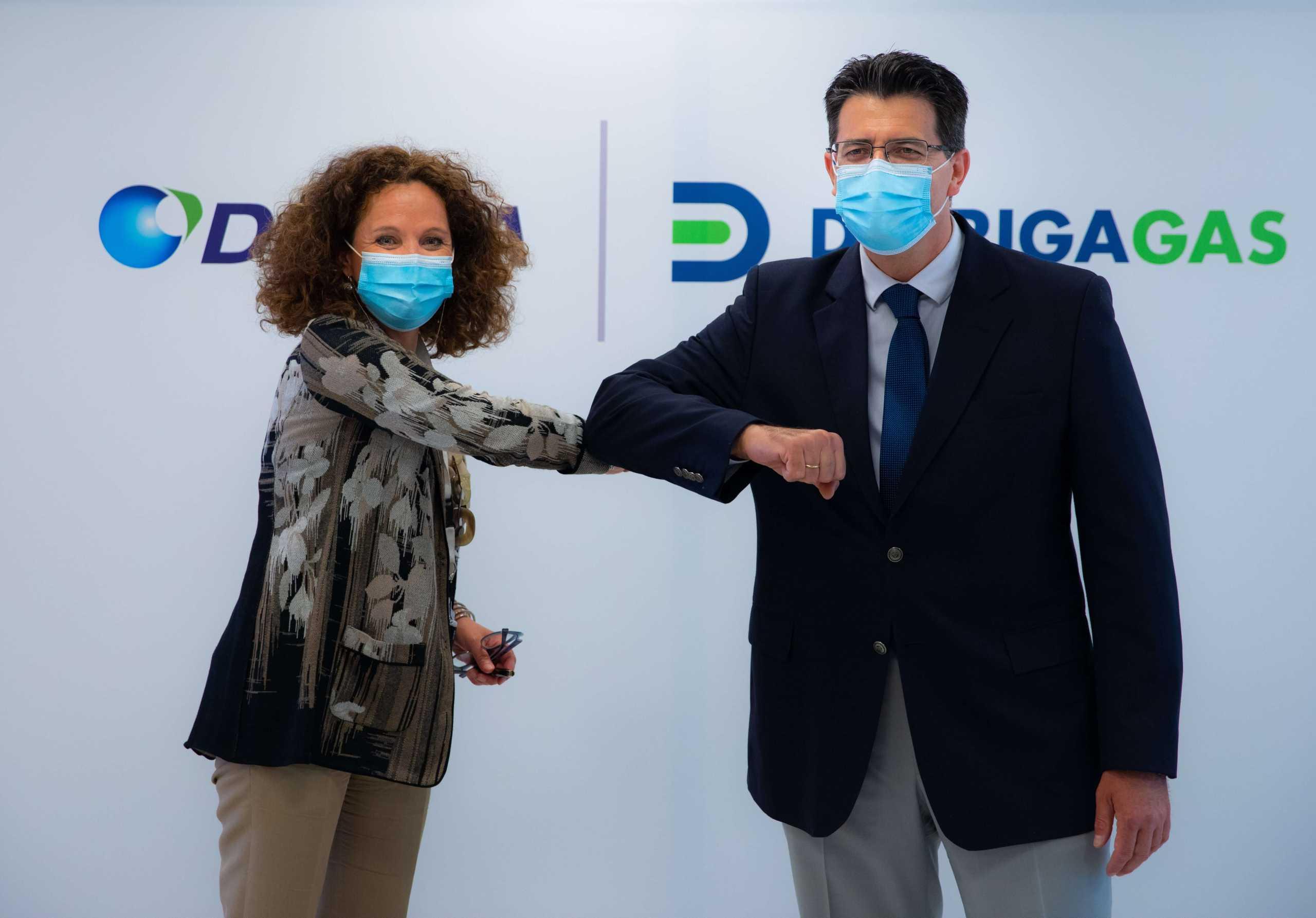 ΔΕΣΦΑ: Σύμβαση με τη ΔιώρυγαGasγια τη δημιουργία πύλης εισόδου φυσικού αερίου