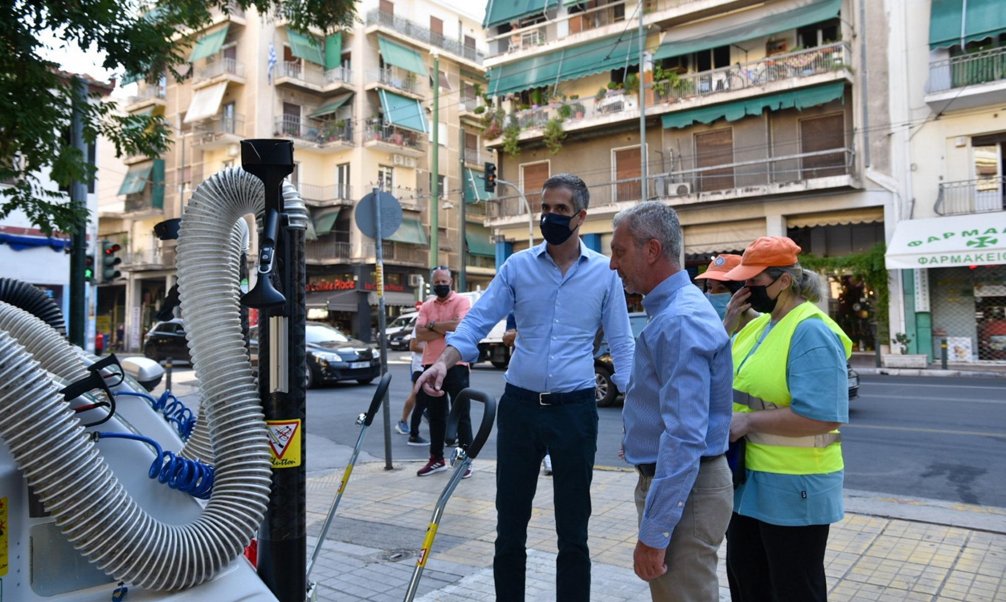 Δήμος Αθηναίων: Σκούπες τελευταίας τεχνολογίας σαρώνουν όλες τις γειτονιές (pics)