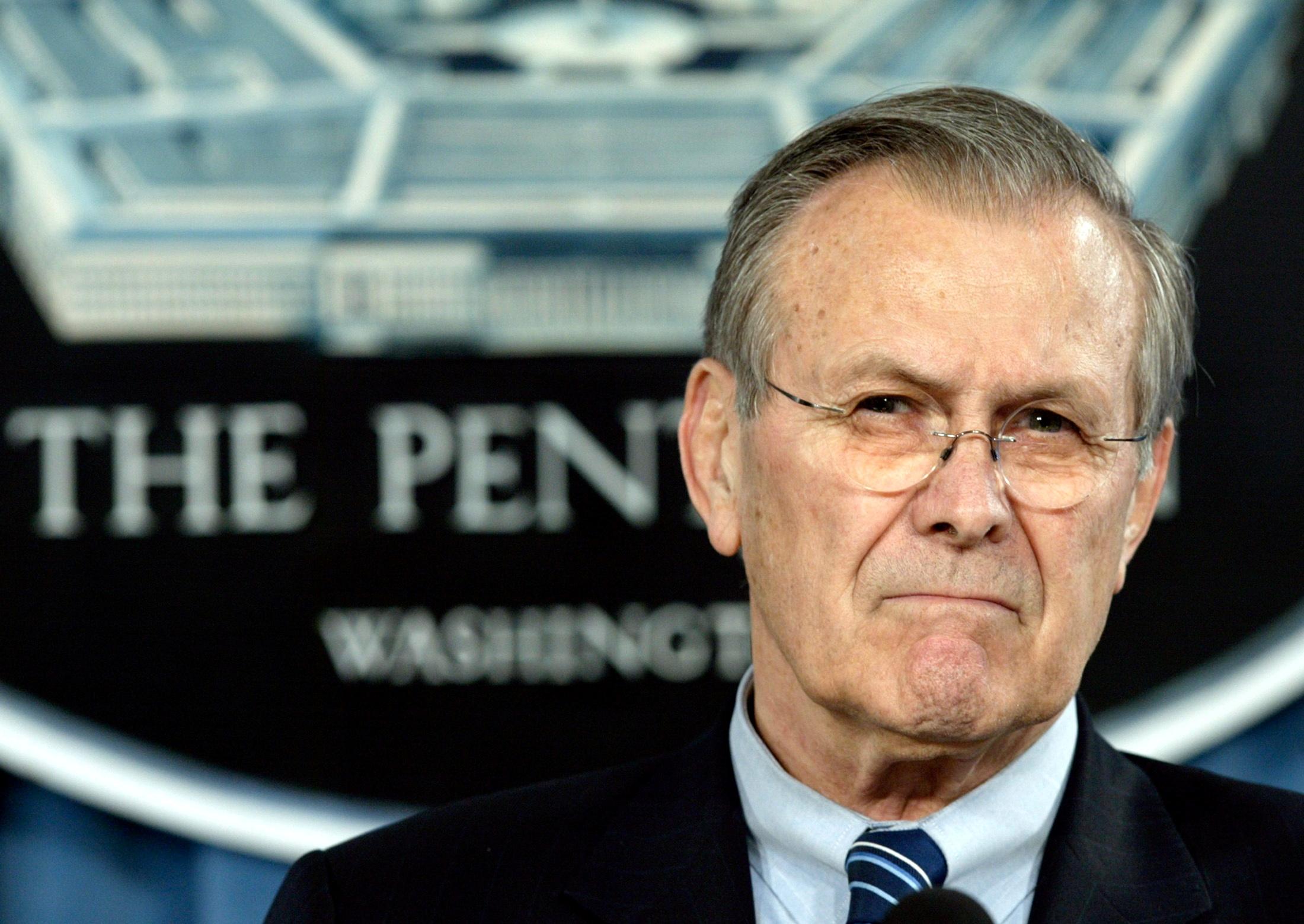 ΗΠΑ: Πέθανε ο πρώην υπουργός Άμυνας Ντόναλντ Ράμσφελντ αρχιτέκτονας του πολέμου στο Ιράκ