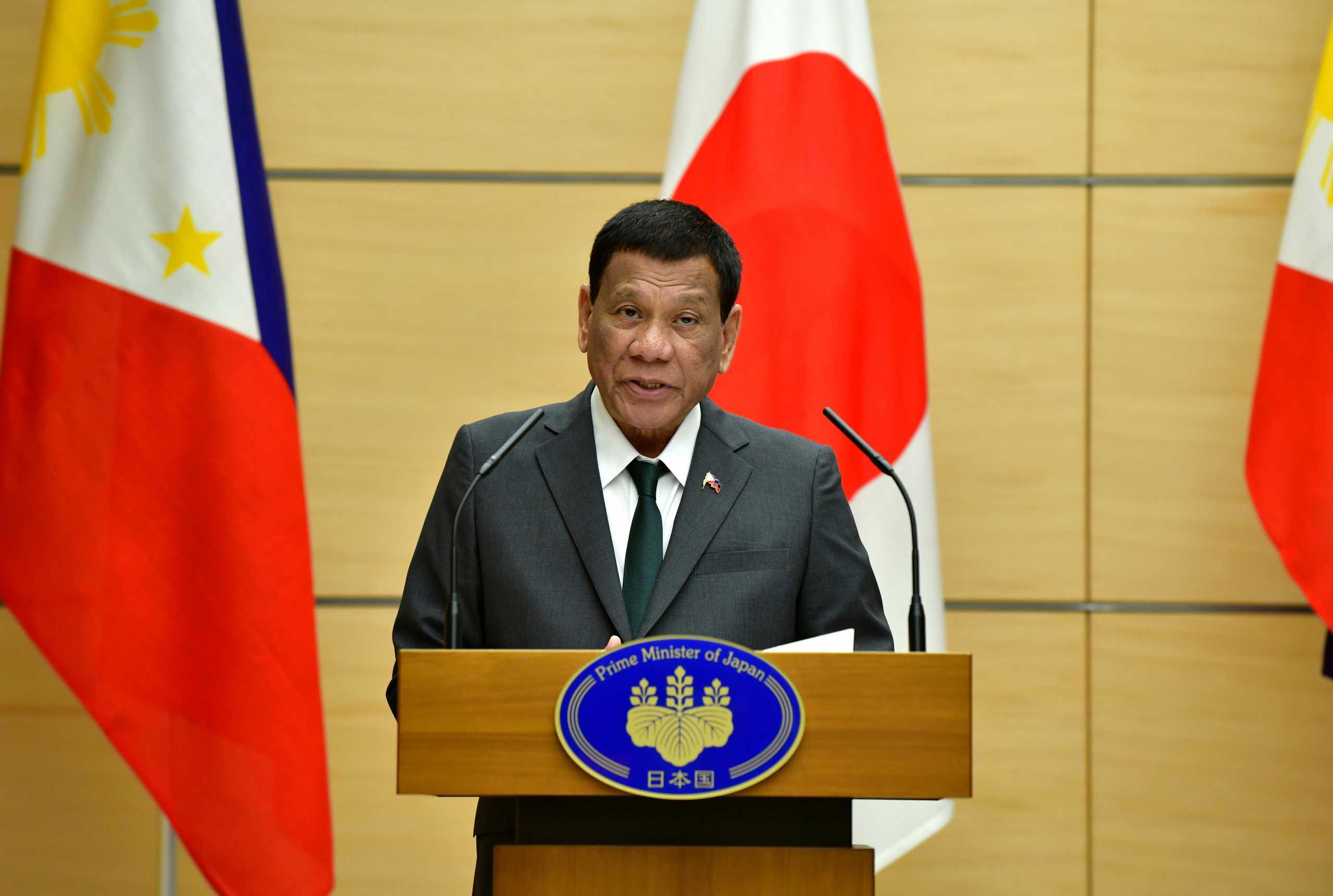 Φιλιππίνες: O Ντουτέρτε δεν θέλει διεθνή έρευνα για τον «πόλεμο κατά των ναρκωτικών»