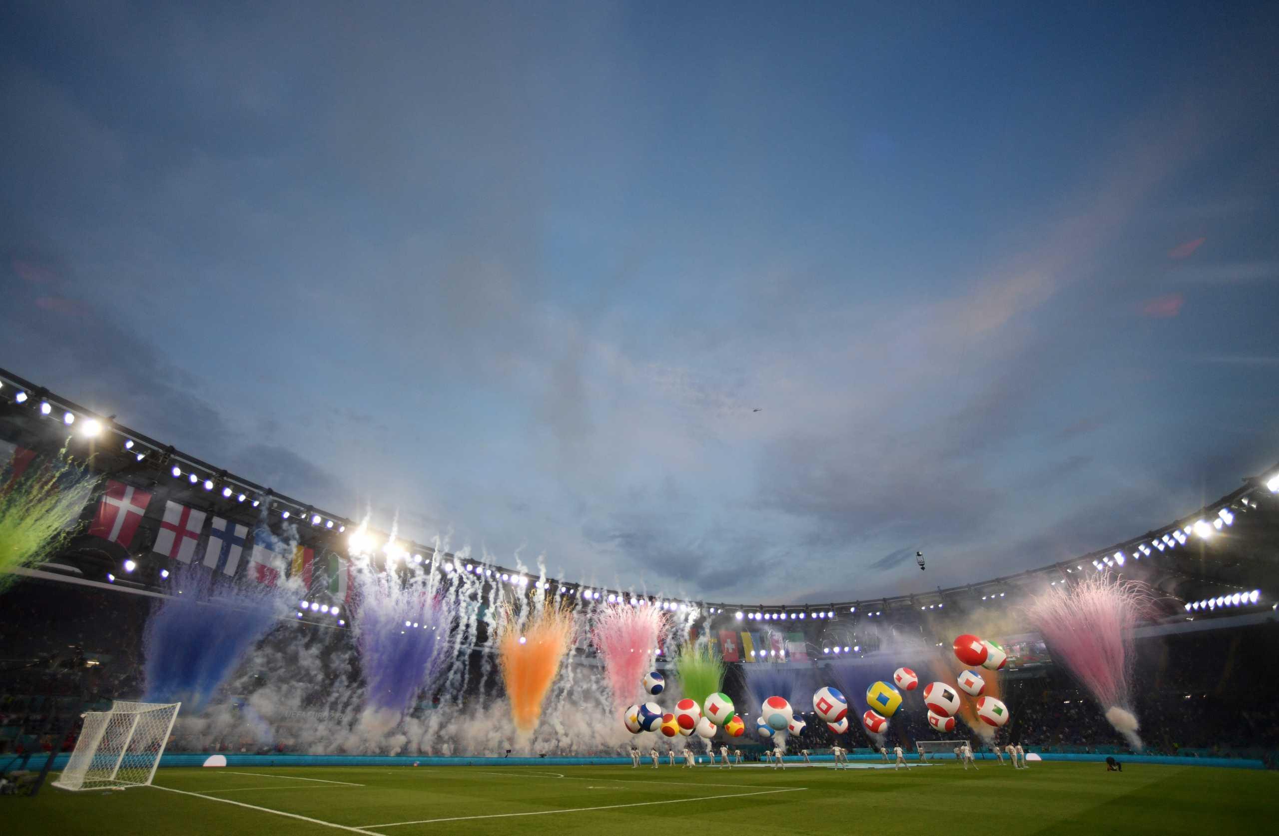 Euro 2020: Η «μαγική» τελετή έναρξης από τους Ιταλούς στο «Ολίμπικο»