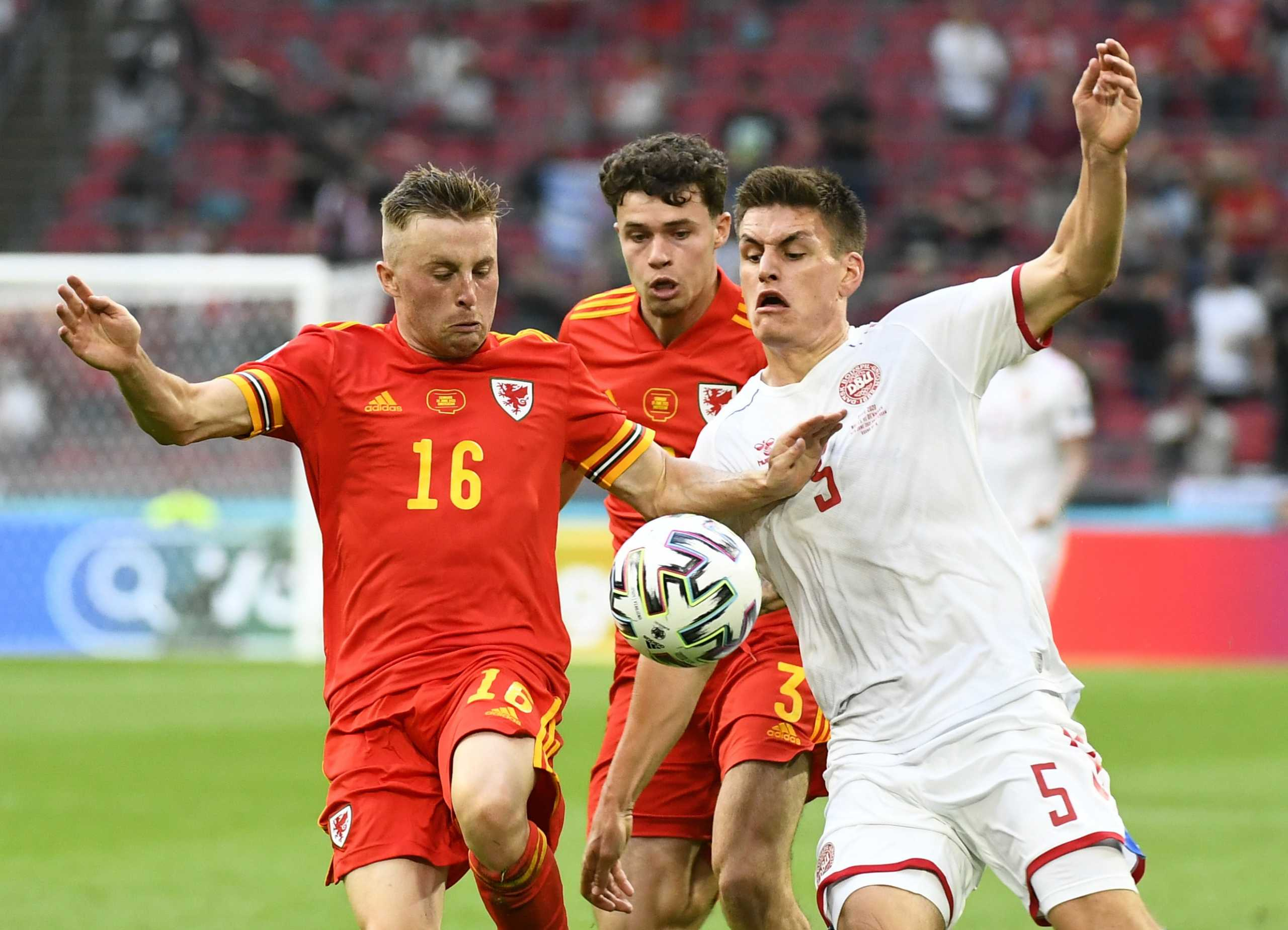 Euro 2020, Ουαλία – Δανία 0-4 ΤΕΛΙΚΟ!